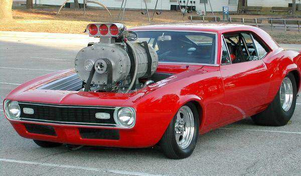 Biggest supercharger Muscle Car