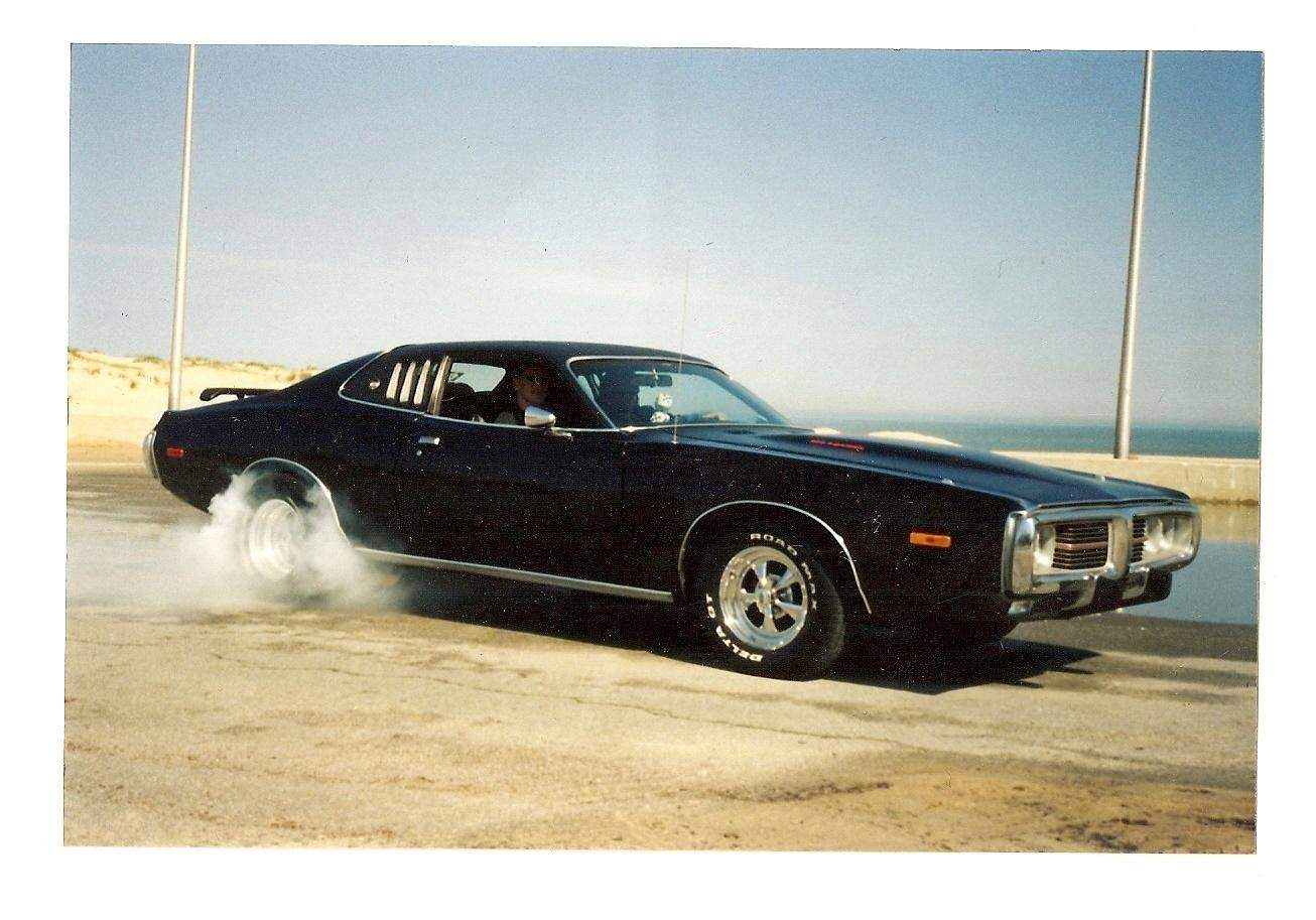 1973 Dodge Charger Burn Notice