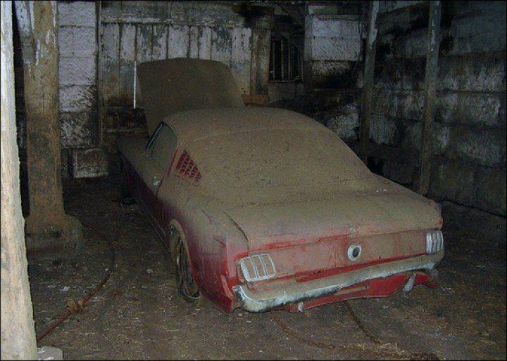 1965 Mustang Fastback Barn Find