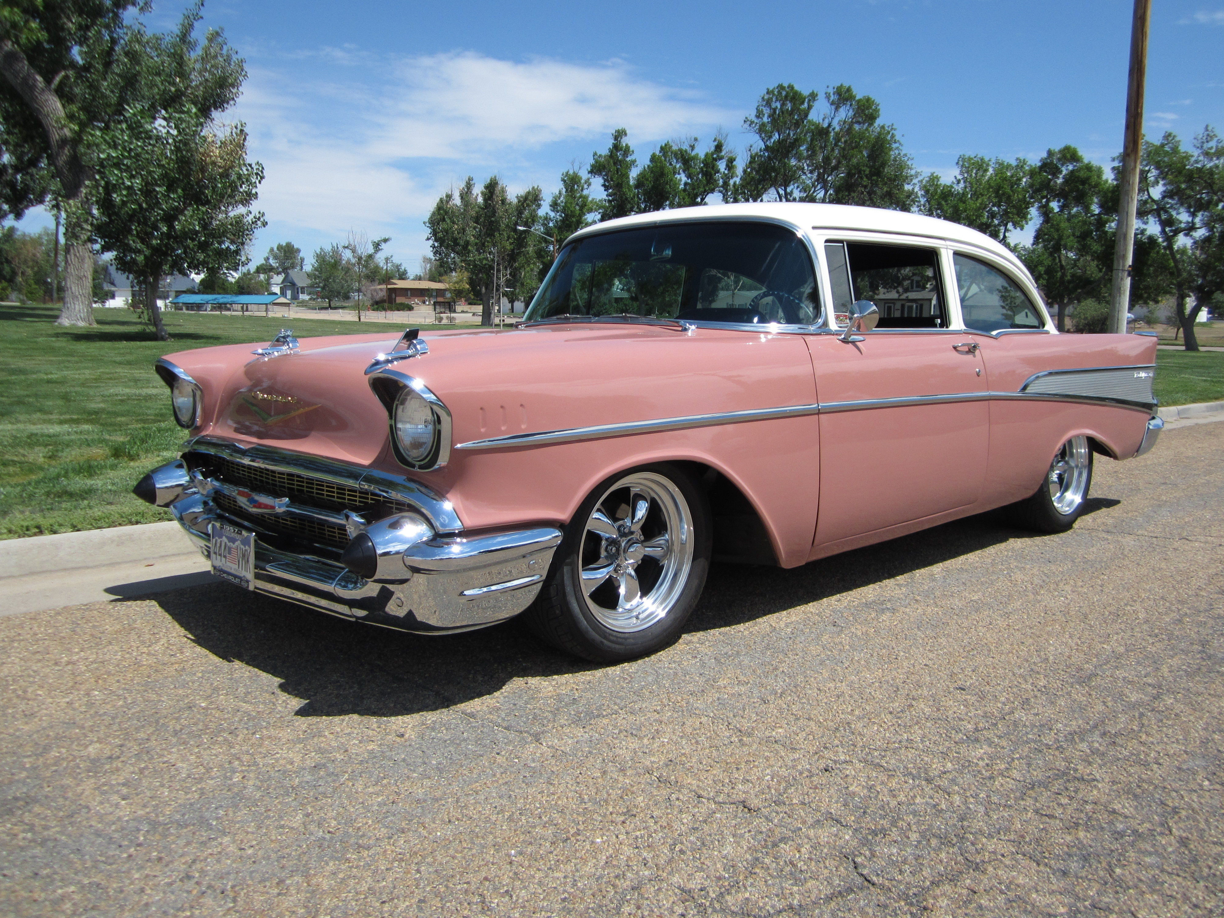 Car That Runs On Air >> Is the 57' Chevrolet Bel Air better than the 55' and 56'?