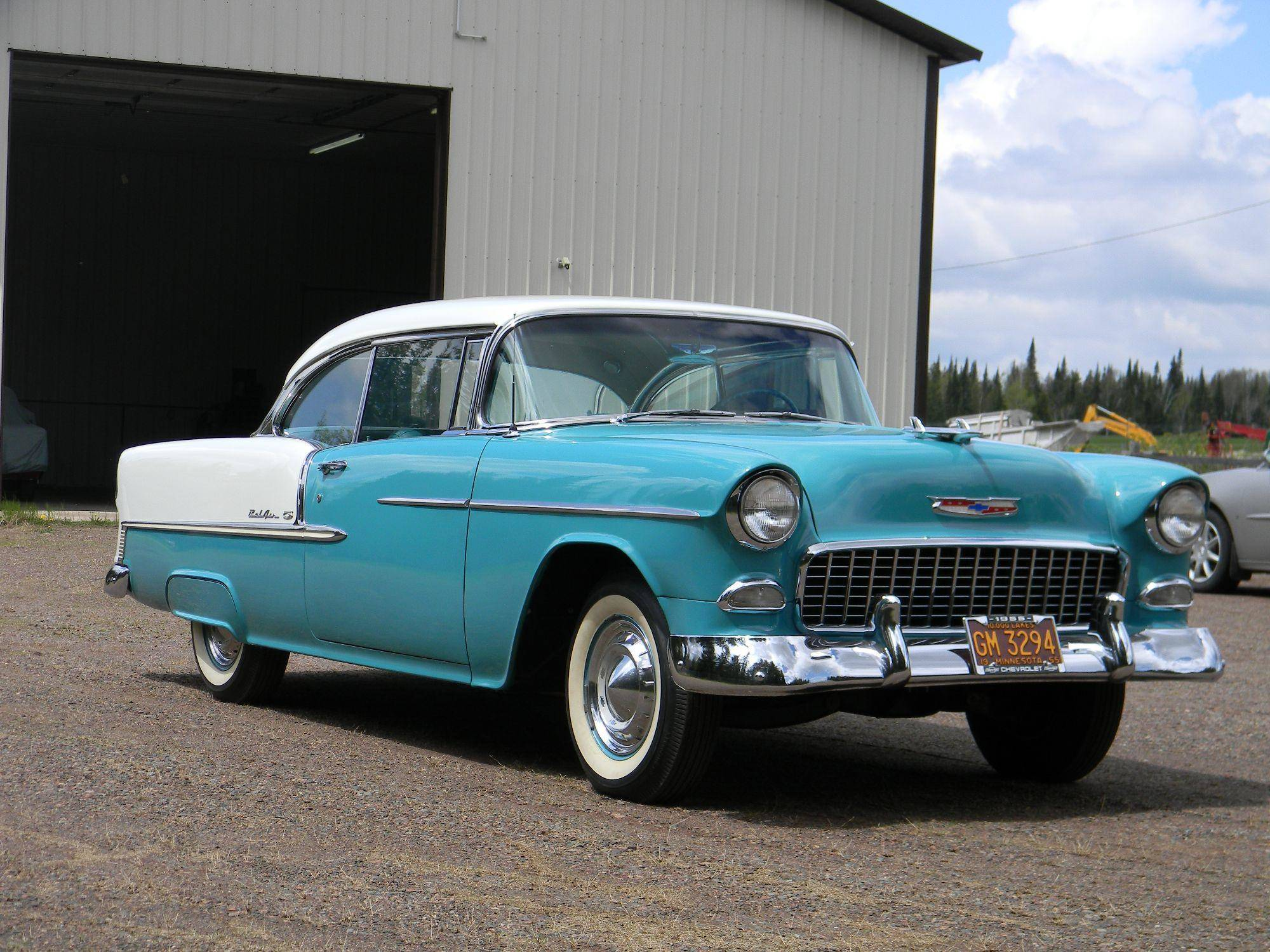 Is the 57\' Chevrolet Bel Air better than the 55\' and 56\'?