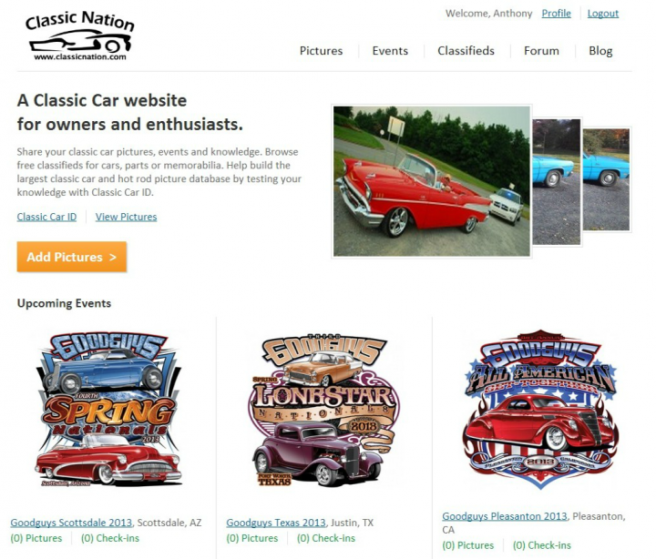 Which Classic Car Websites Are Your Favorite - Classic car websites