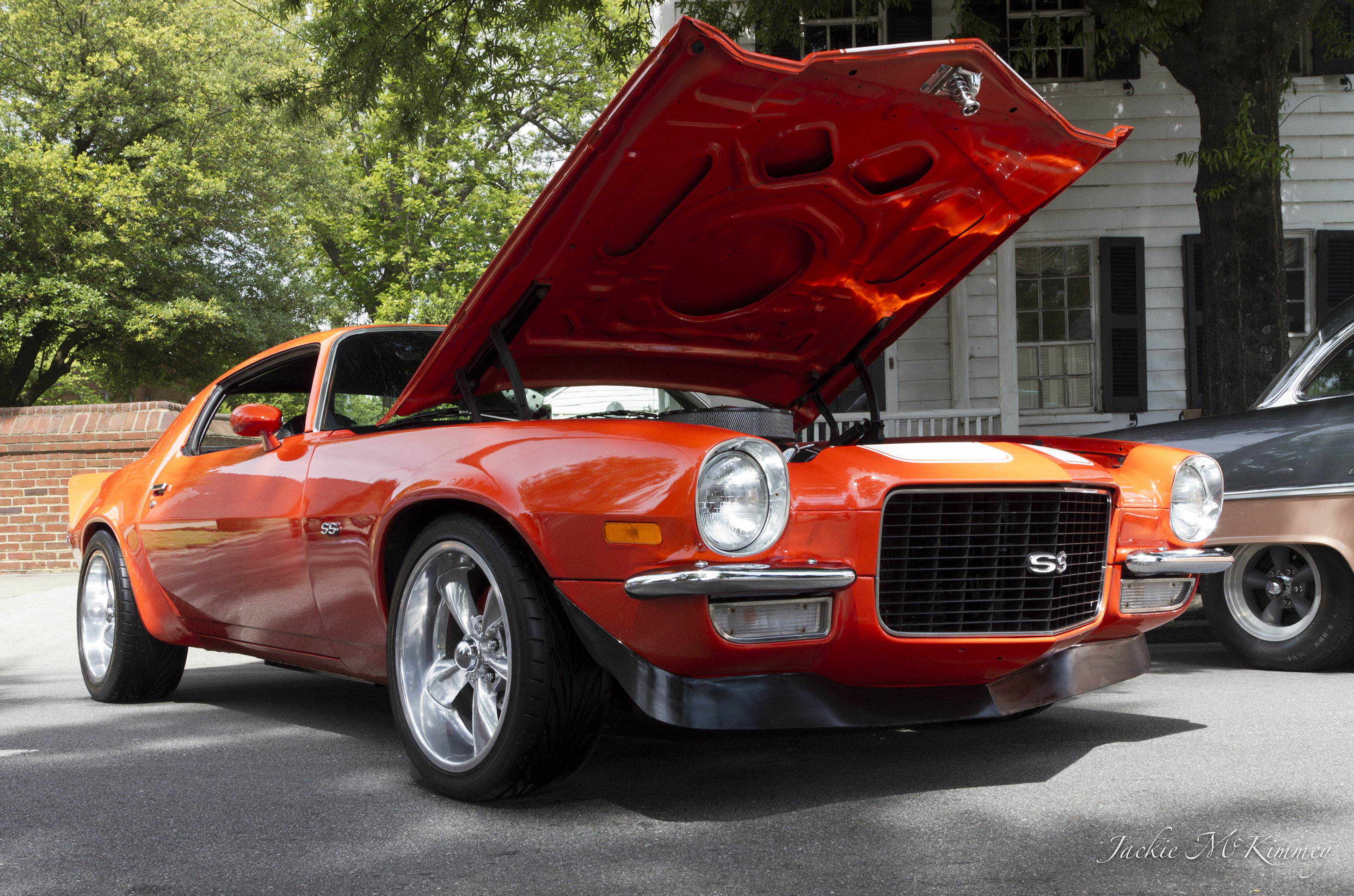 Pro touring style 1970 Camaro SS with split bumper option