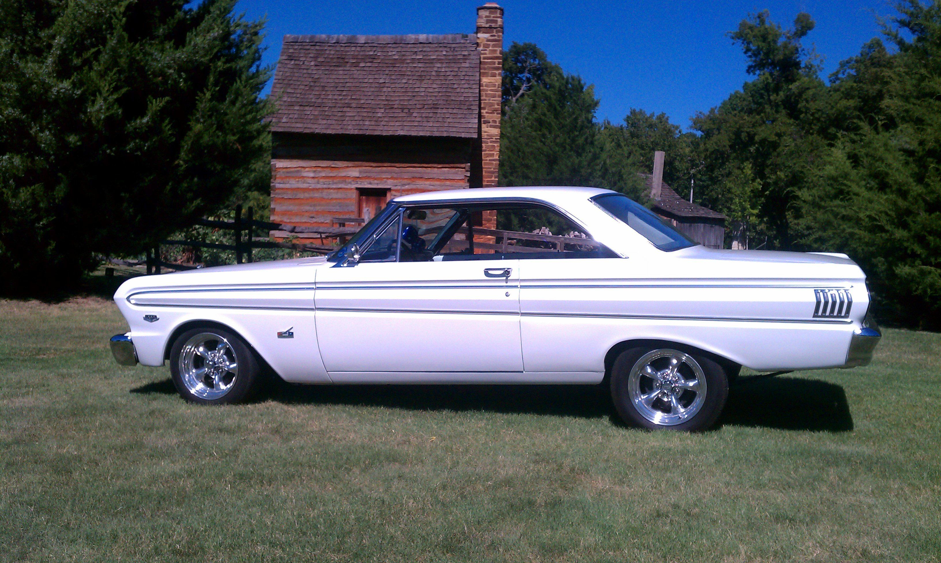 A 1964 ford falcon futura 2 door hardtop with a 260 v8 engine sciox Images