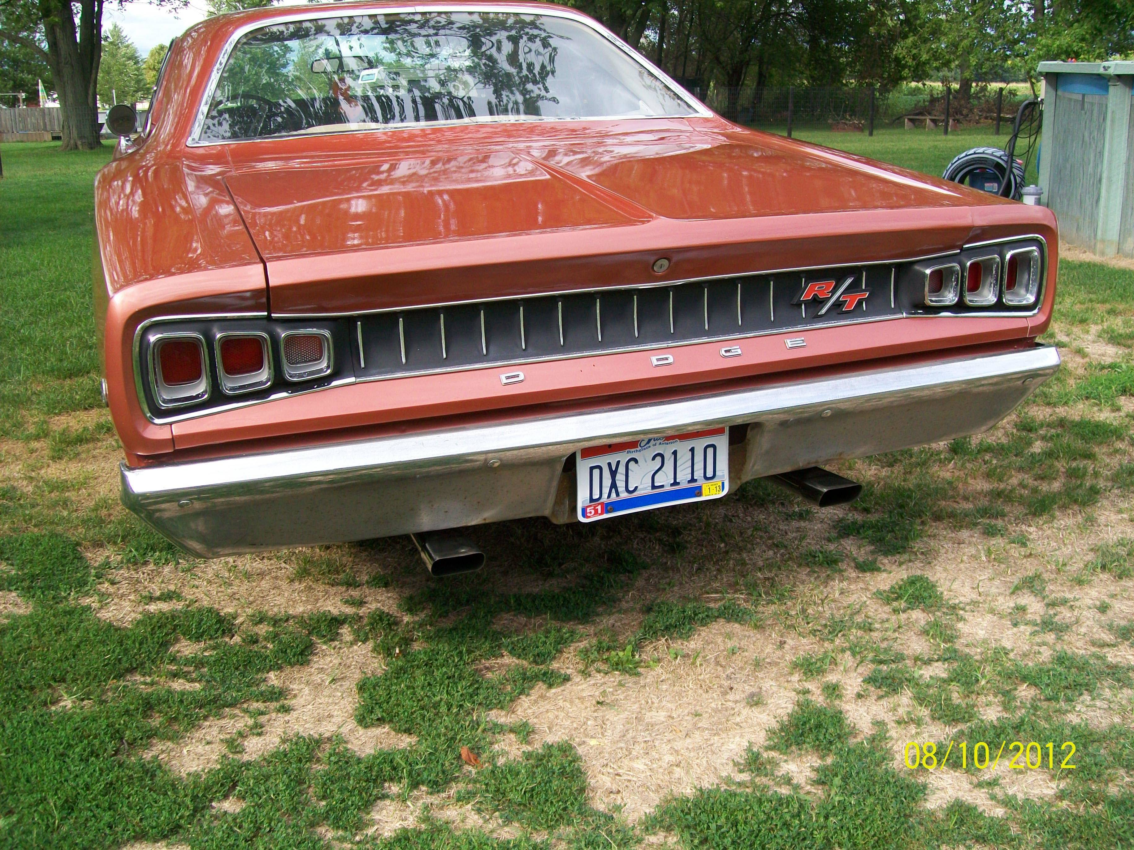 I Love The Tail Lights 1968 Dodge Coronet R T