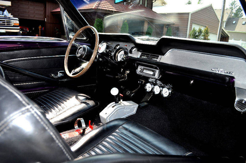 Mustang Shelby - Interior