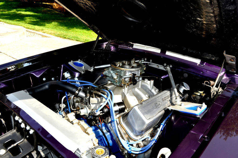 Mustang Engine 1967