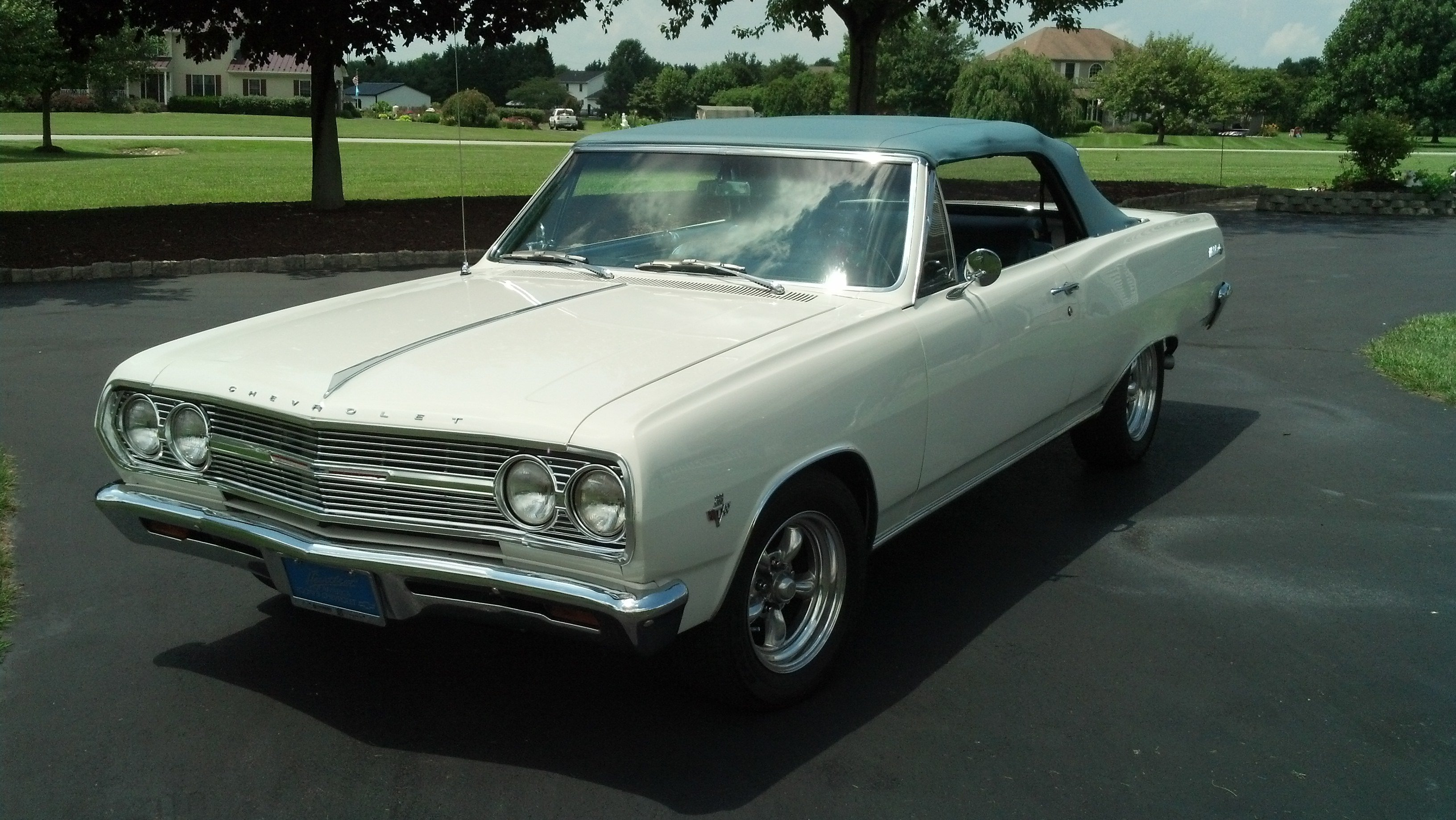 65 Chevelle Convertible White