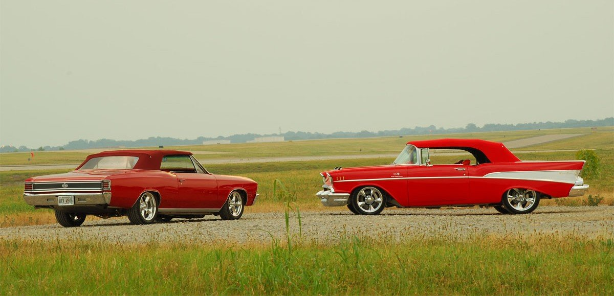 Two Chevrolets