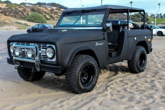 Custom Ford Bronco
