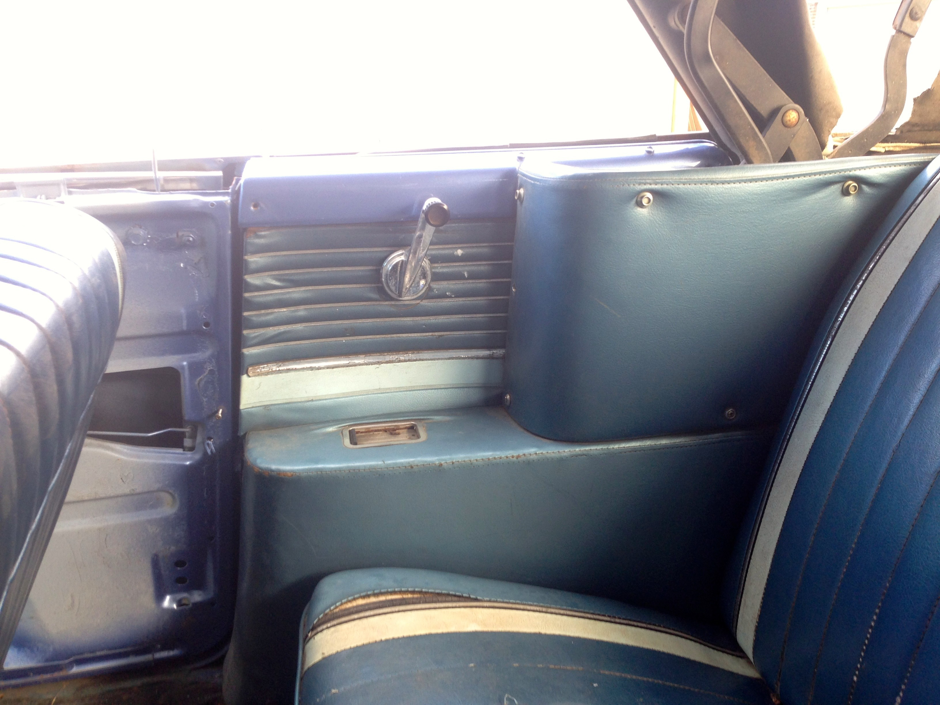 Galaxie Sunliner Back Seat