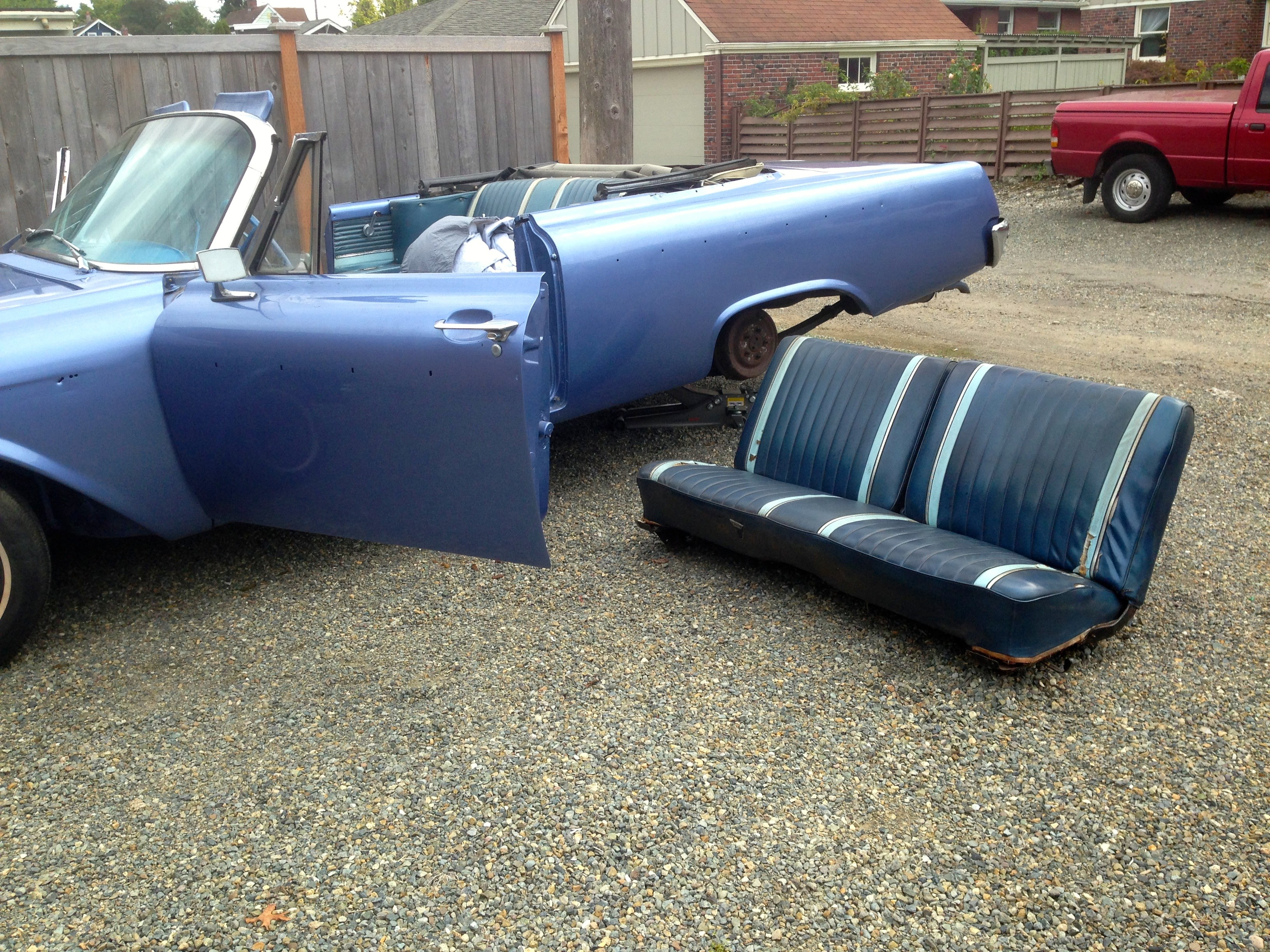 Galaxie 500 Sunliner Bench Seat