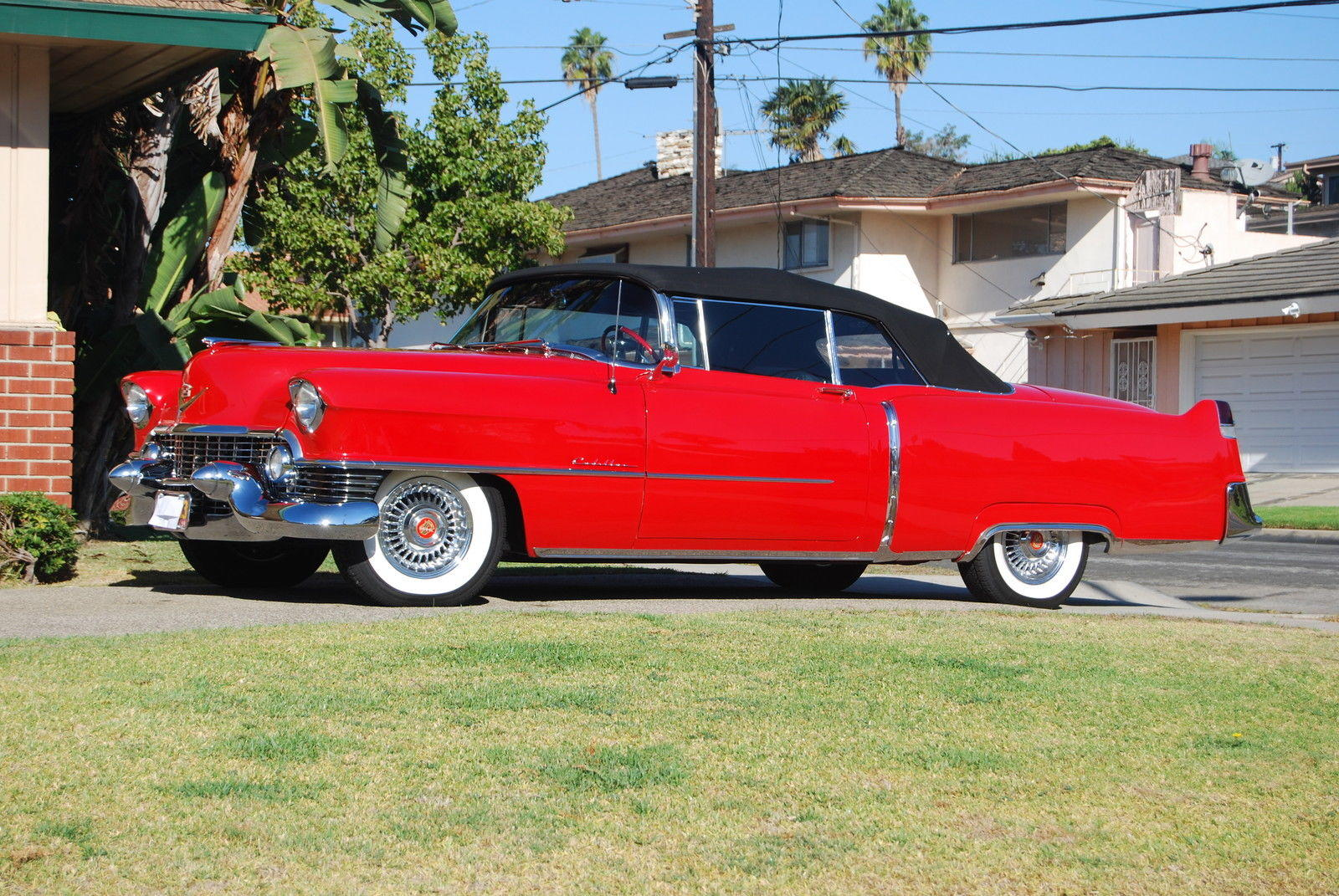 Sweet 1954 Cadillac DeVille Series 62 Convertible is Cherry