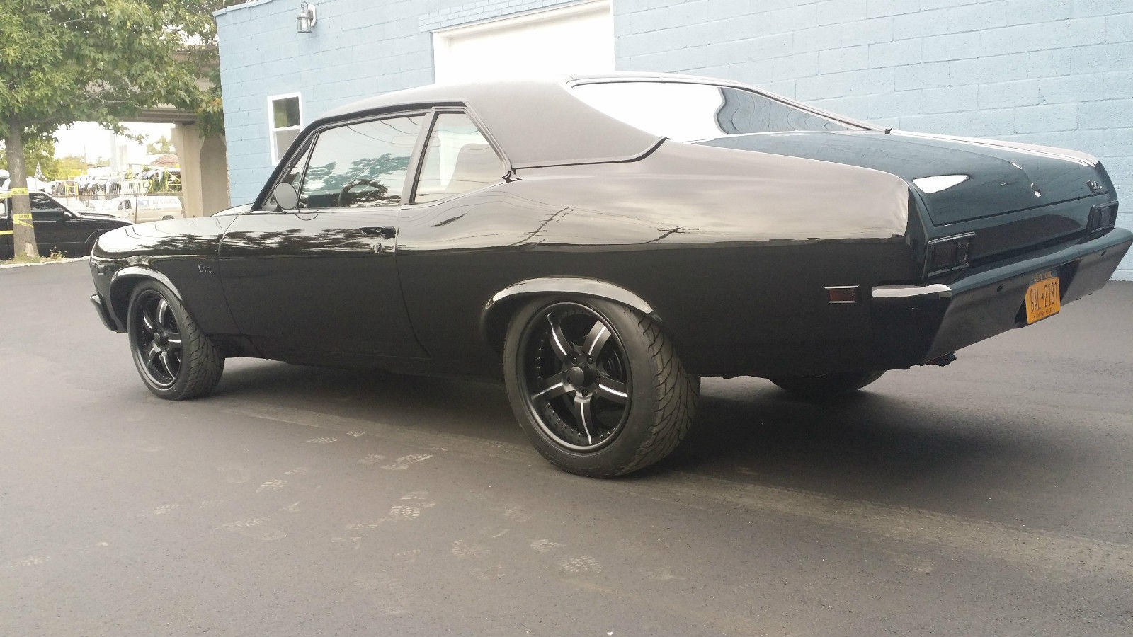 All Chevy black chevy nova : A 1969 Chevy Nova with Murdered out Pro Touring Treatment