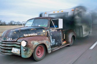 Custom '47 Chevy Rat Rod Pickup [505 hp]