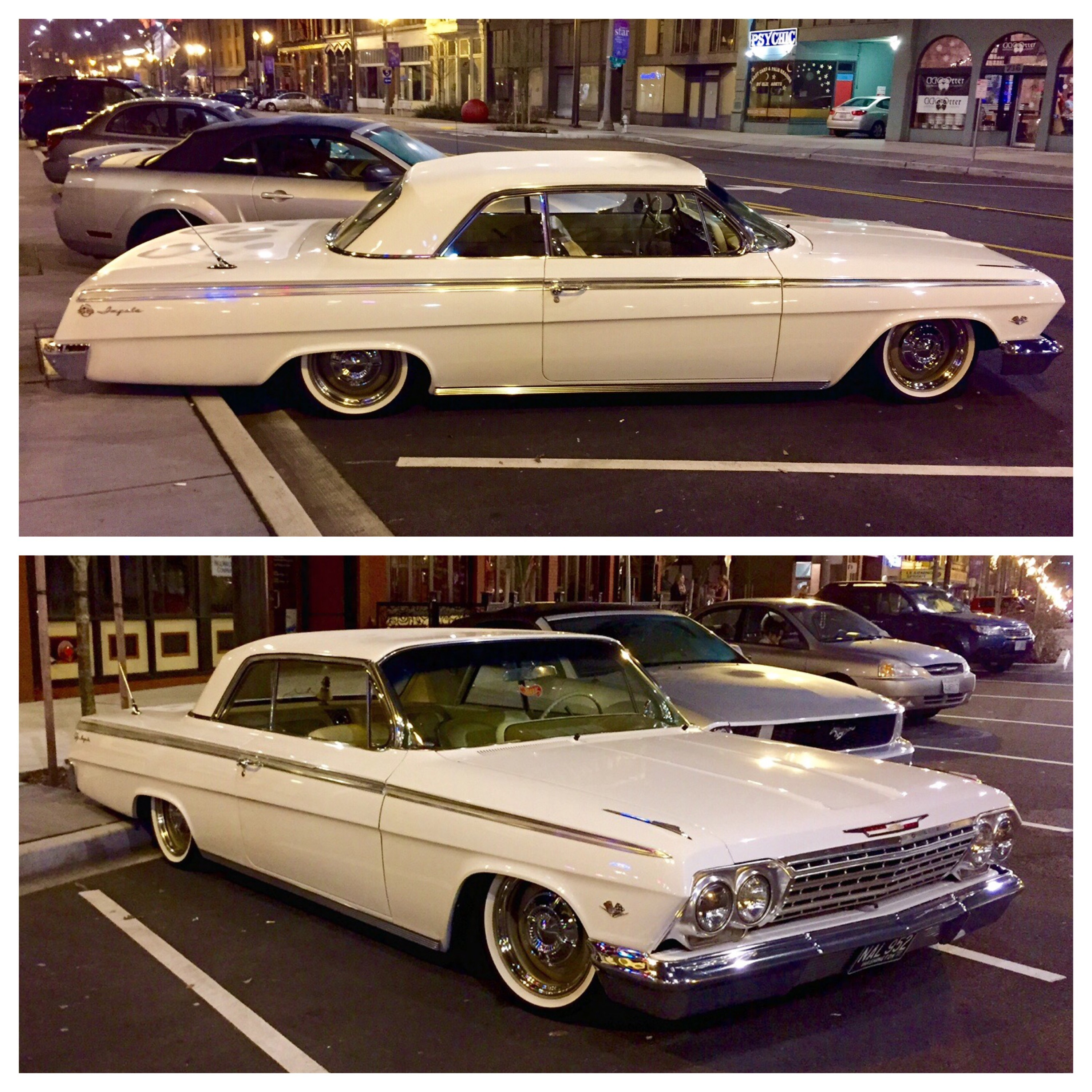 Beautiful custom '62 Impala spotted in Tacoma, WA