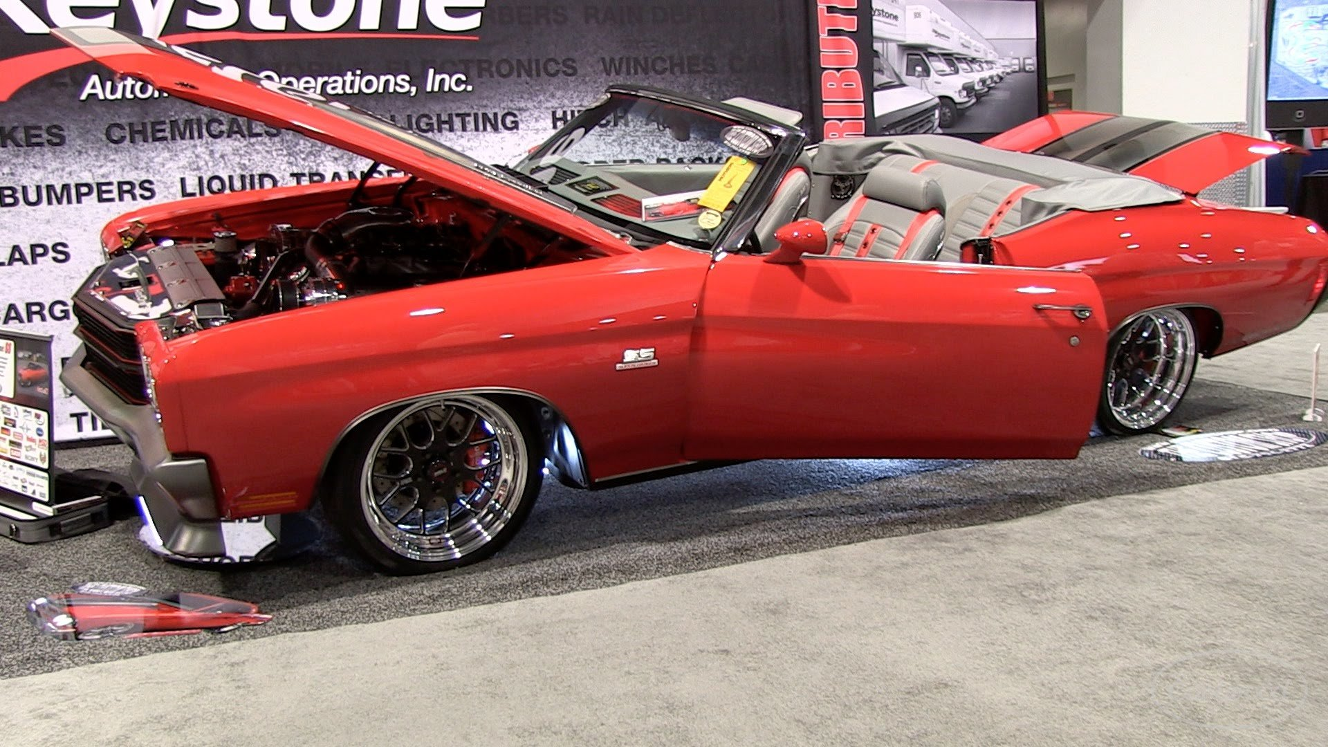 1 000 Hp Supercharged 1970 Chevelle Convertible 572 Gm