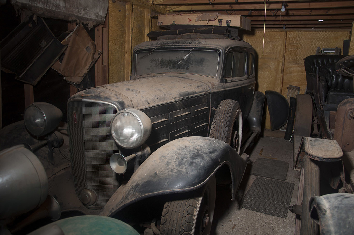 Texas Find: Five Pre-war Automobiles Discovered in an actual barn