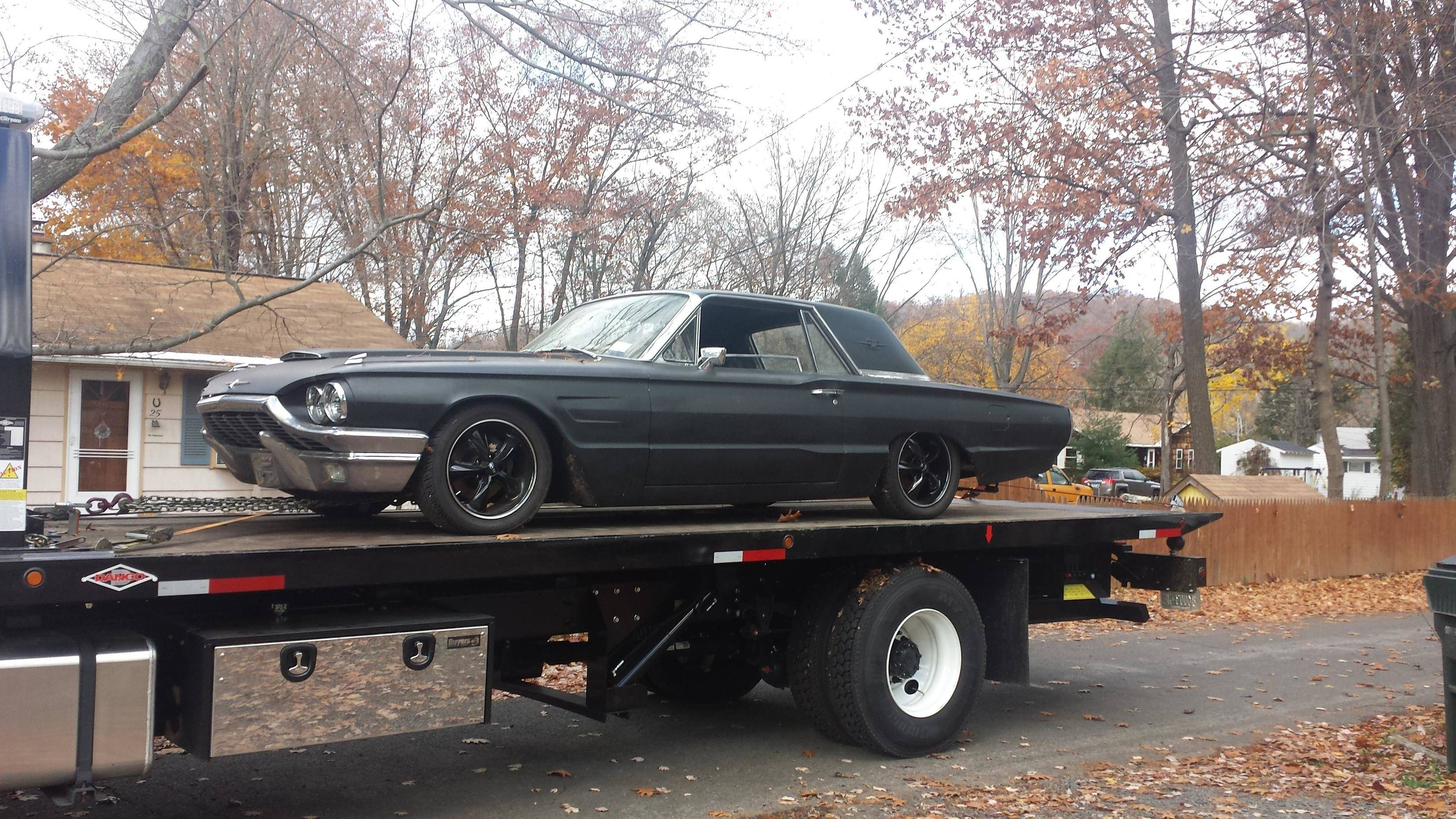 My current project – Ford Thunderbird