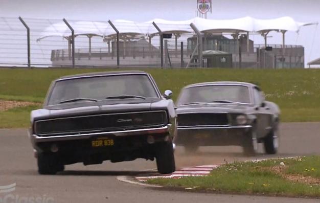 1968 Charger Vs 1968 Mustang Fastback Bullitt Tribute