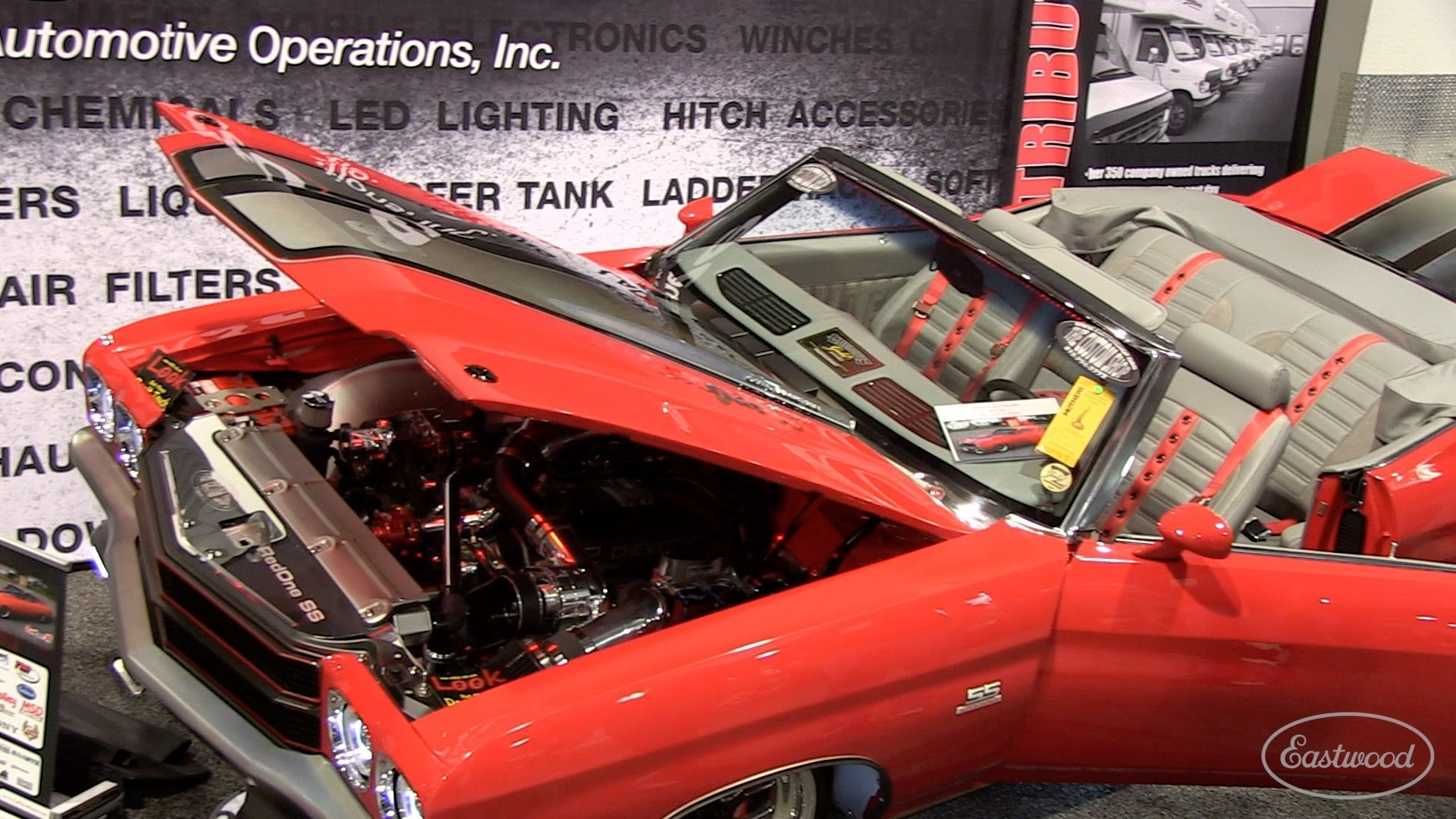 1,000 hp Supercharged 1970 Chevelle Convertible! [572 GM Crate]