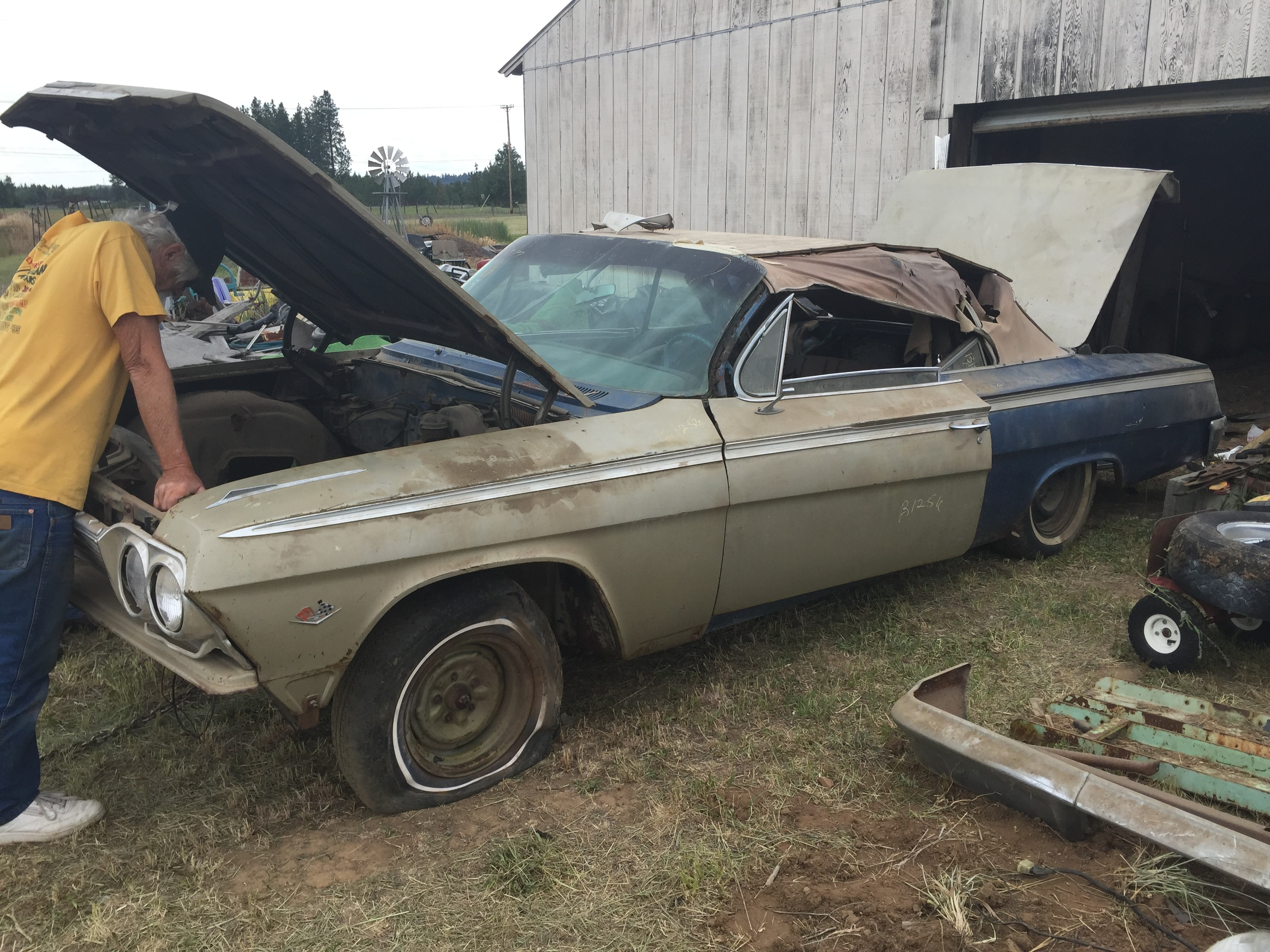 Barn Find Impala SS Heading Home For a Full Restoration
