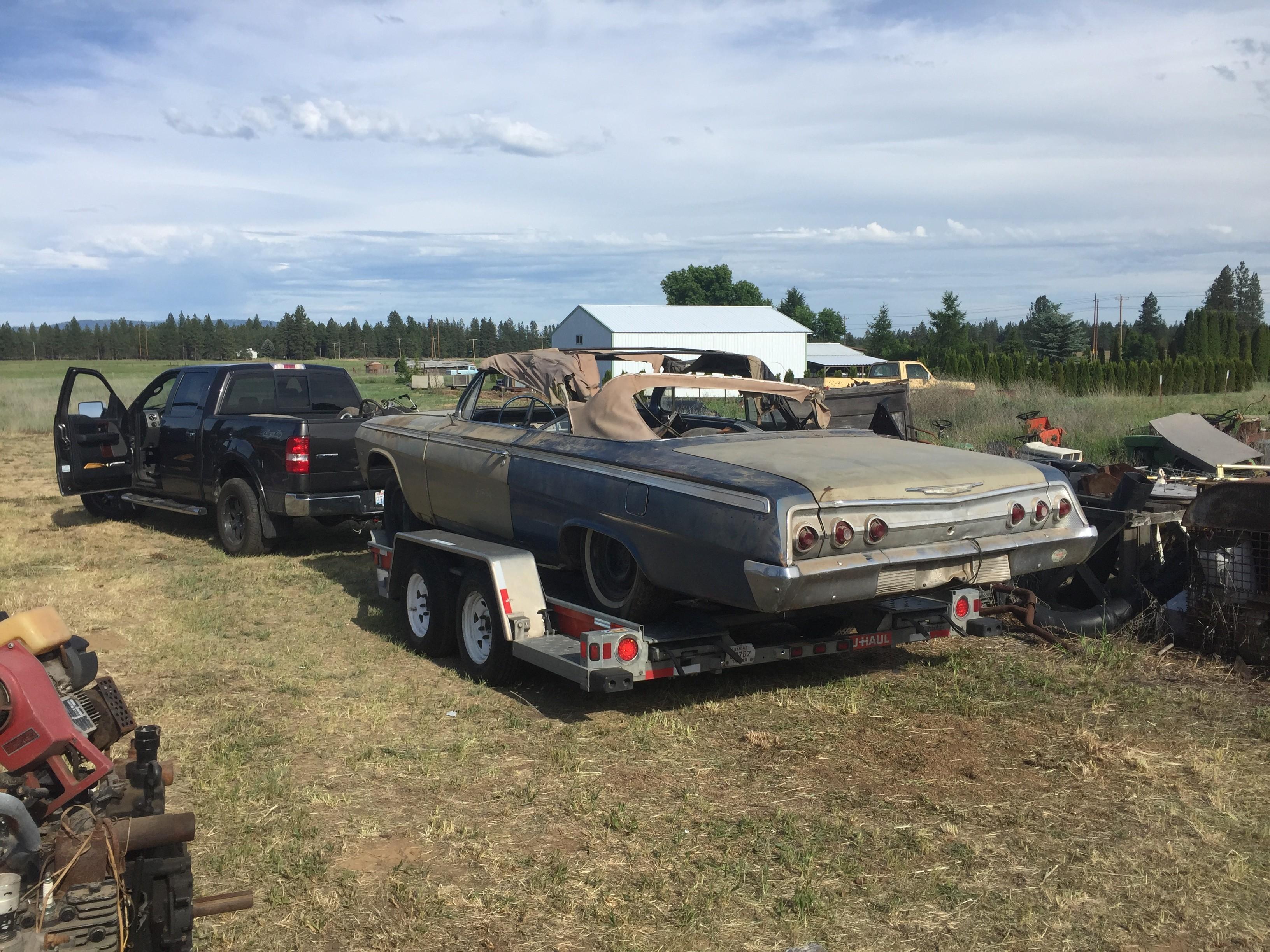62 Impala SS Barn Find