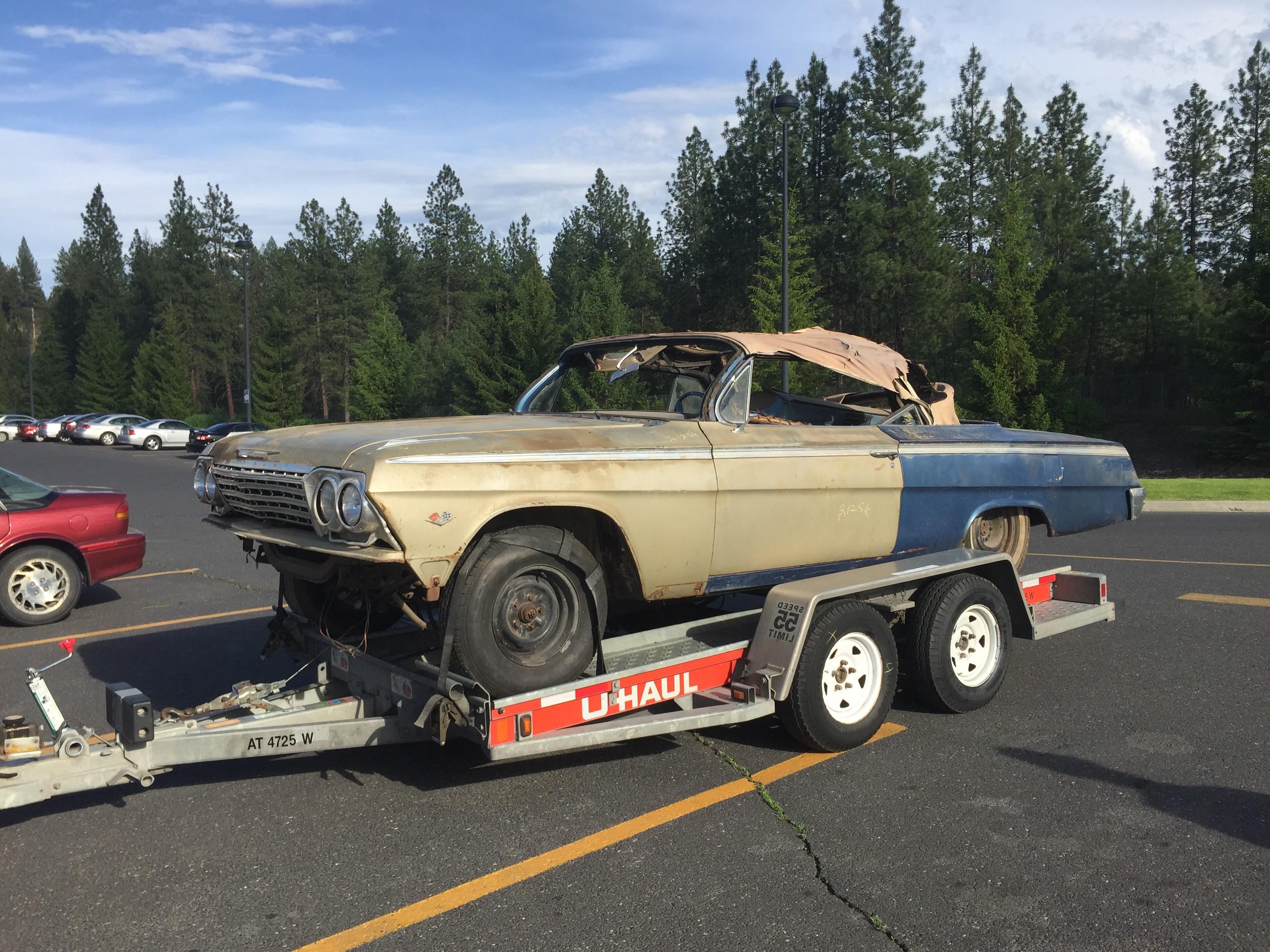 62 Impala Super Sport Barn Find