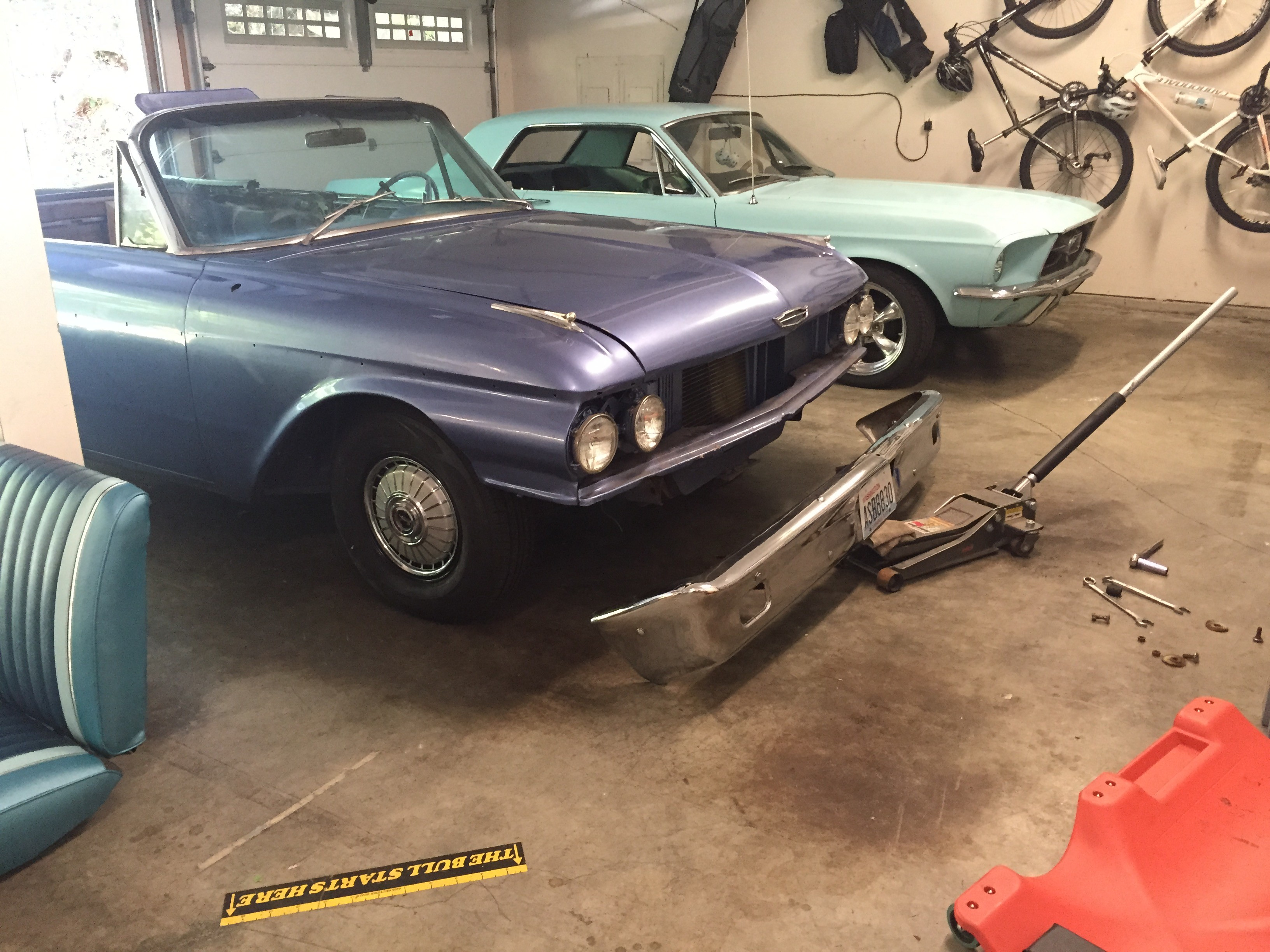 Making Progress On My 1962 Ford Galaxie Sunliner Convertible