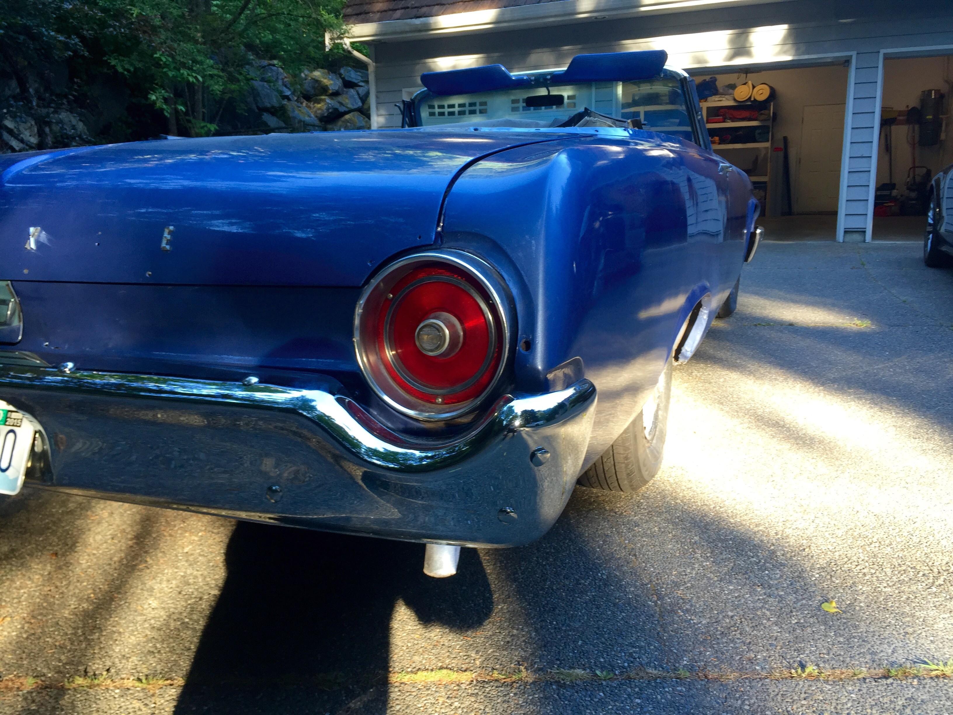1962 Galaxie tail light