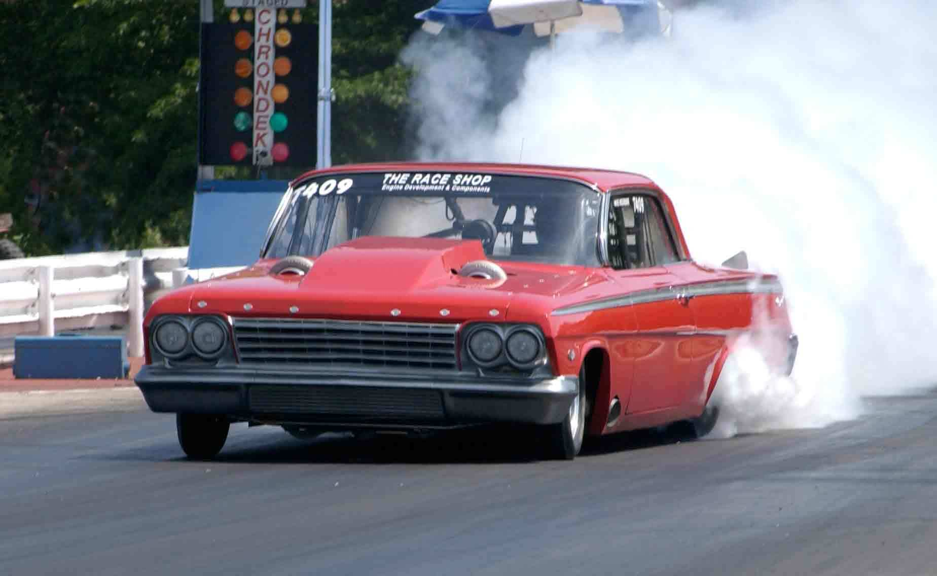Twin Turbo '62 Impala is Scary Fast! 6.86 @ 210MPH? Why Not?