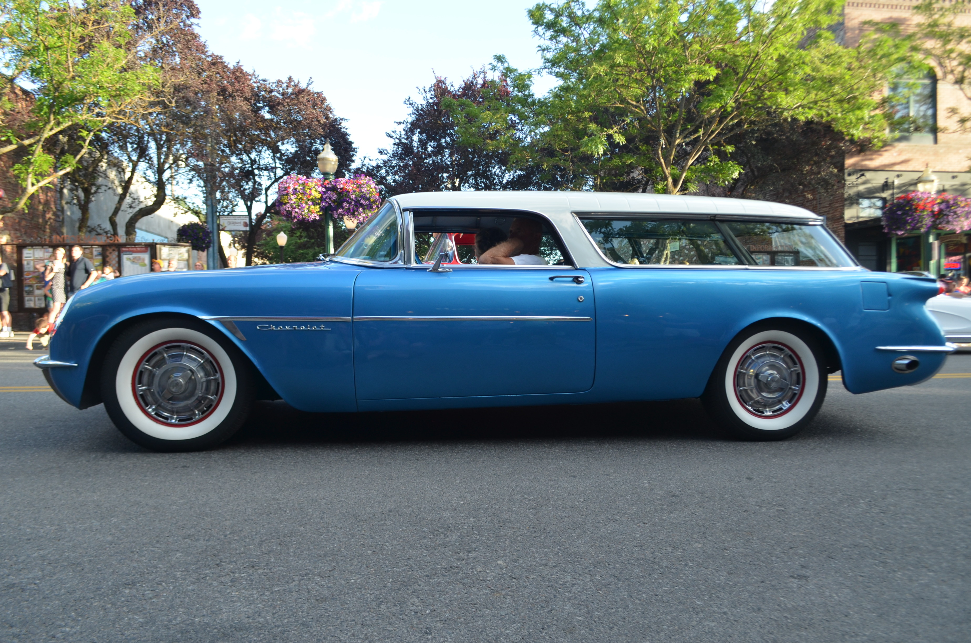 Part Corvette part wagon, this custom is a perfect blend of both