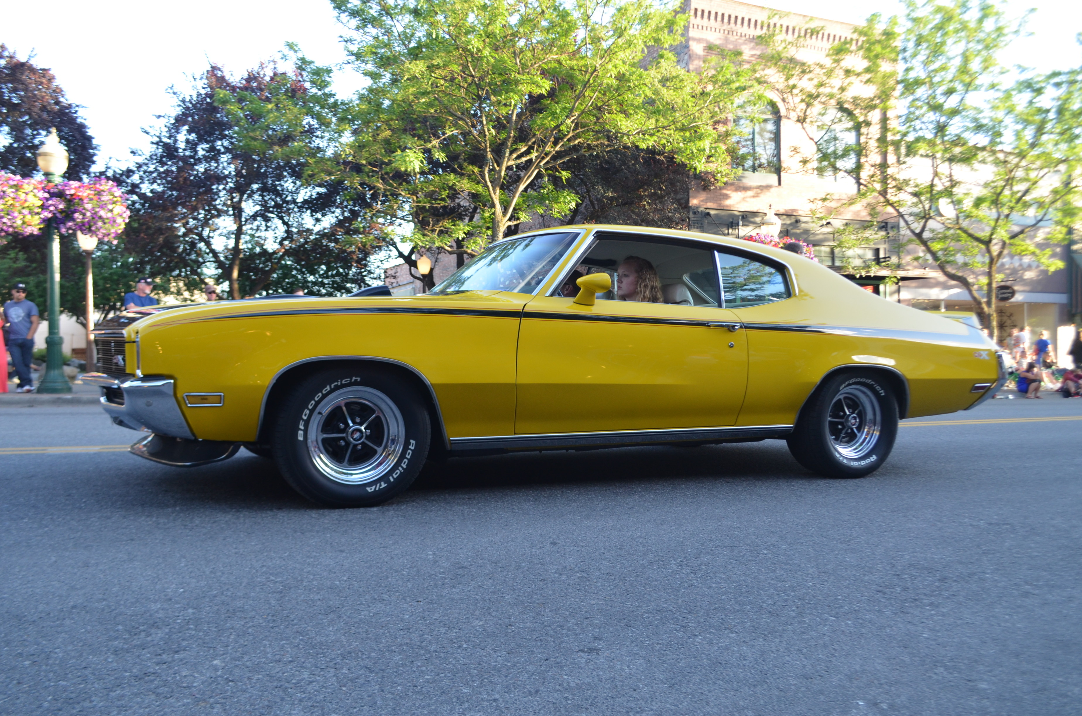 Yellow has always been the best color for a Buick GSX