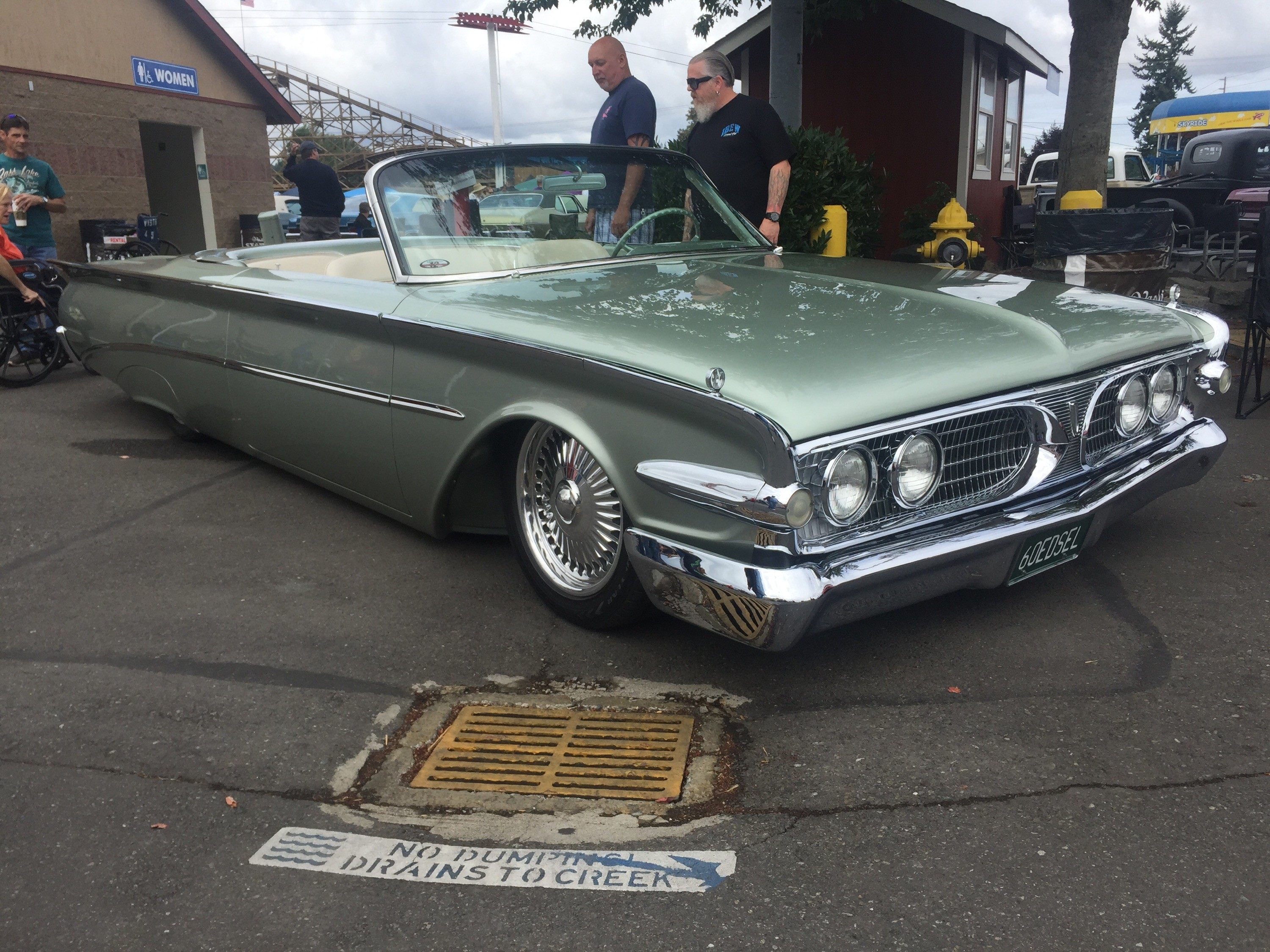 Custom Edsel Convertible spotted at the Goodguys Puyallup Show