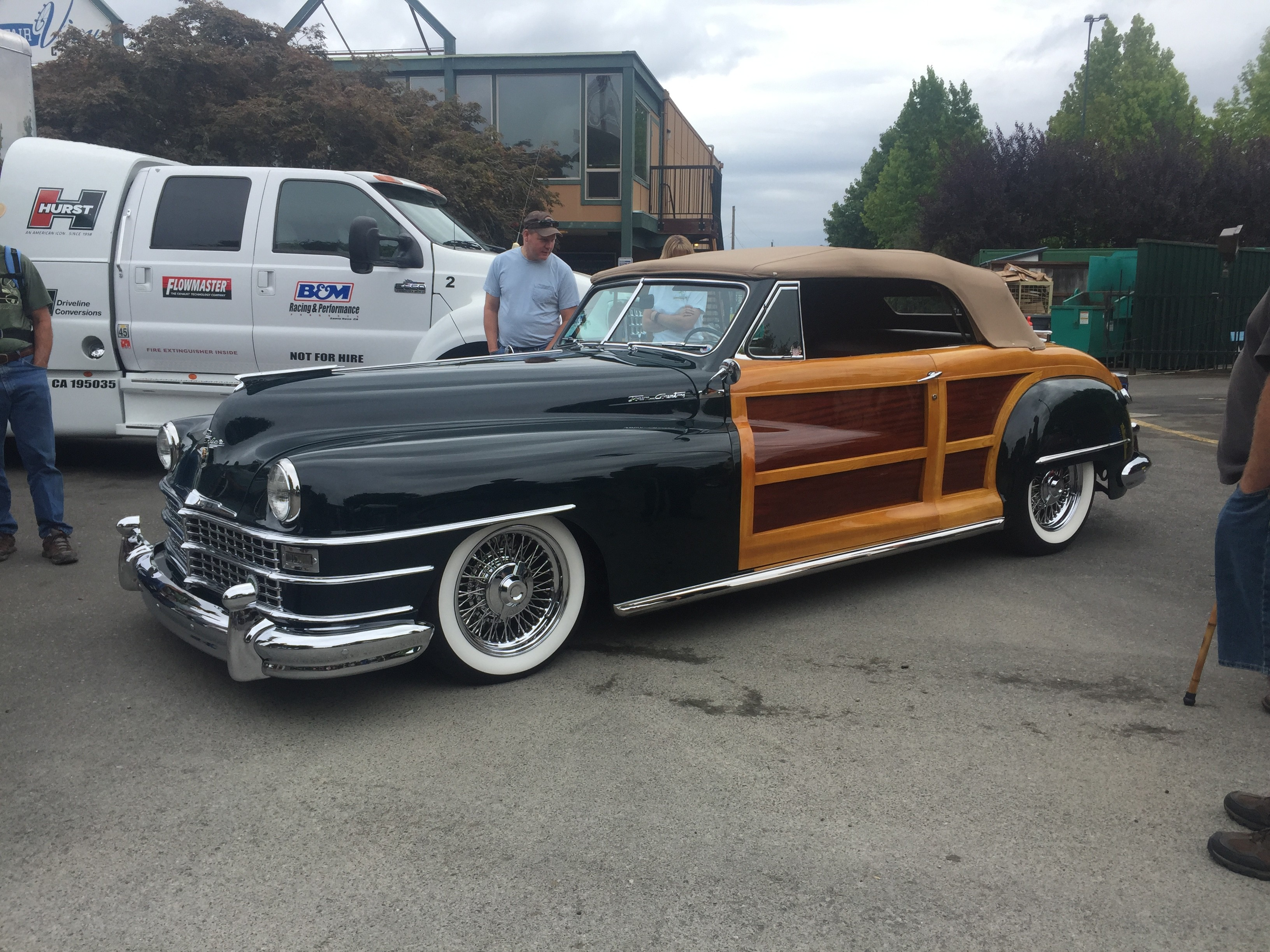 1948 Chrysler Town and Country Convertible [Woodie]