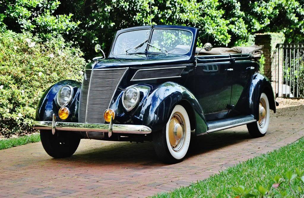 Stunning 1937 Ford Phaeton Convertible