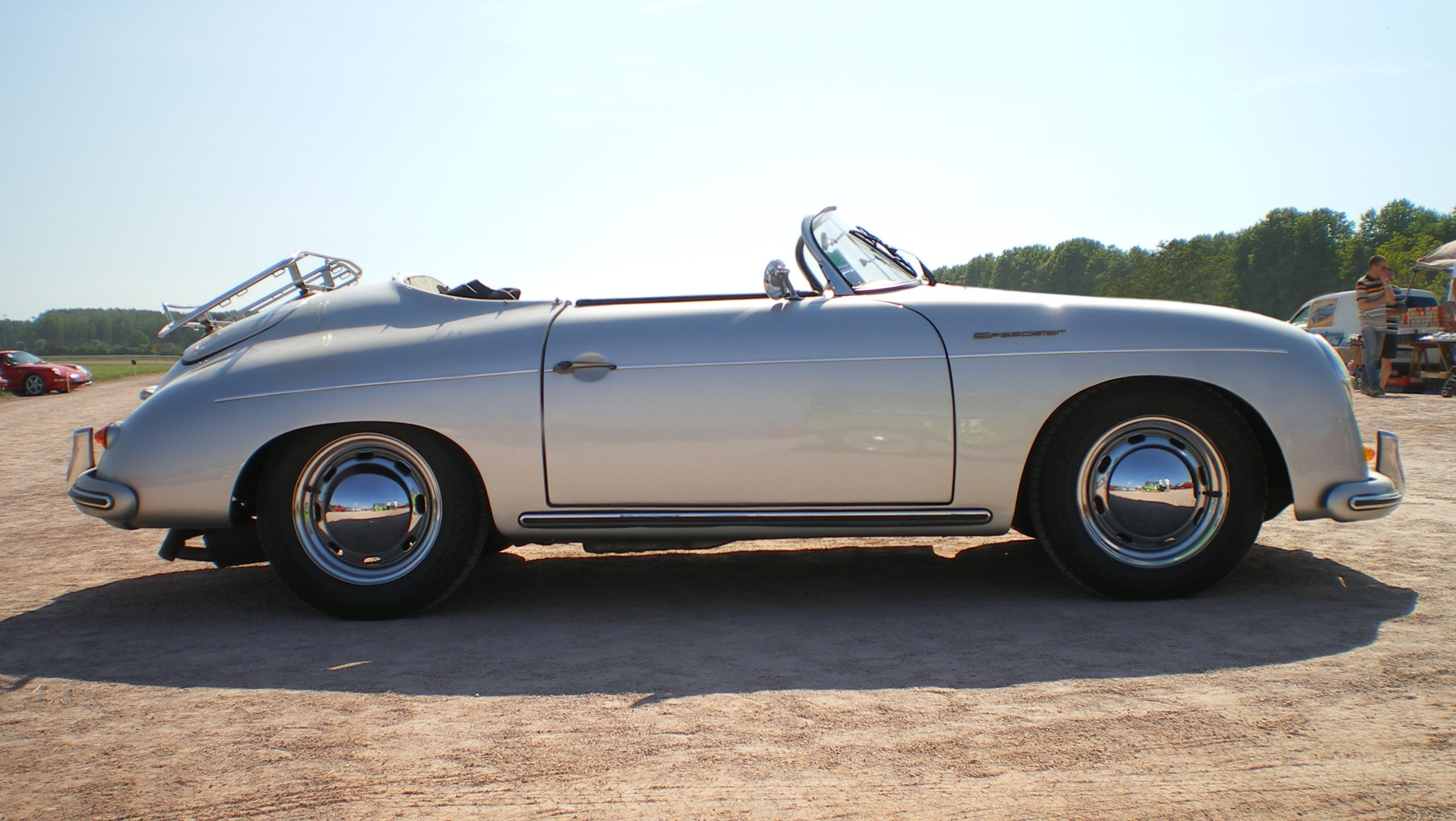 The timeless Porsche 356 (Speedster) is an iconic car with equal parts style and performance