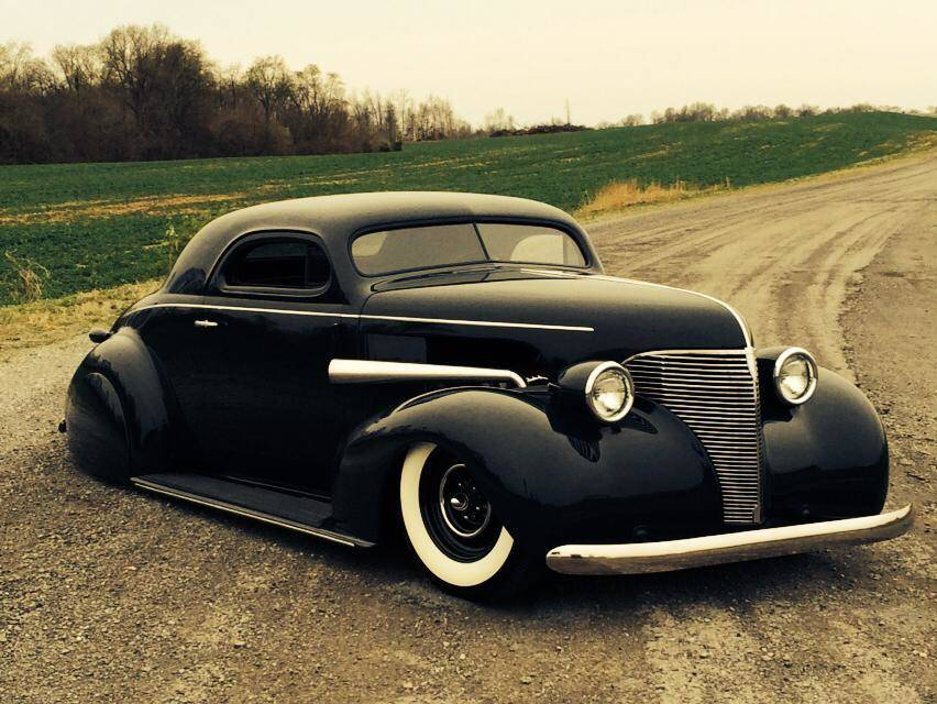 Custom '39 Chevy with a full hot rod treatment