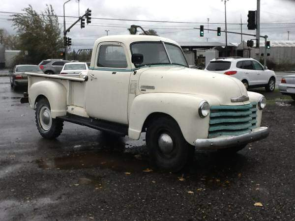 1950 Chevy 3500 Truck – $7500 [Seattle, WA]