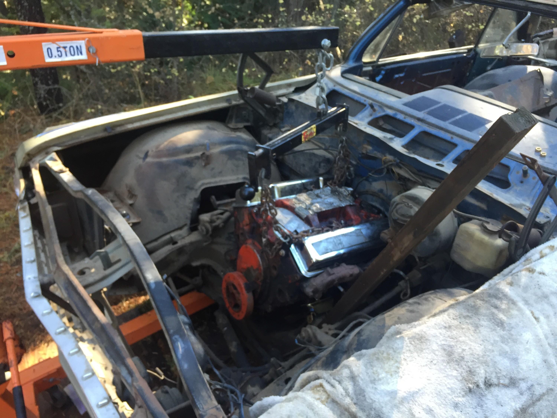 Small Block 350 Chevy into'62 Impala SS