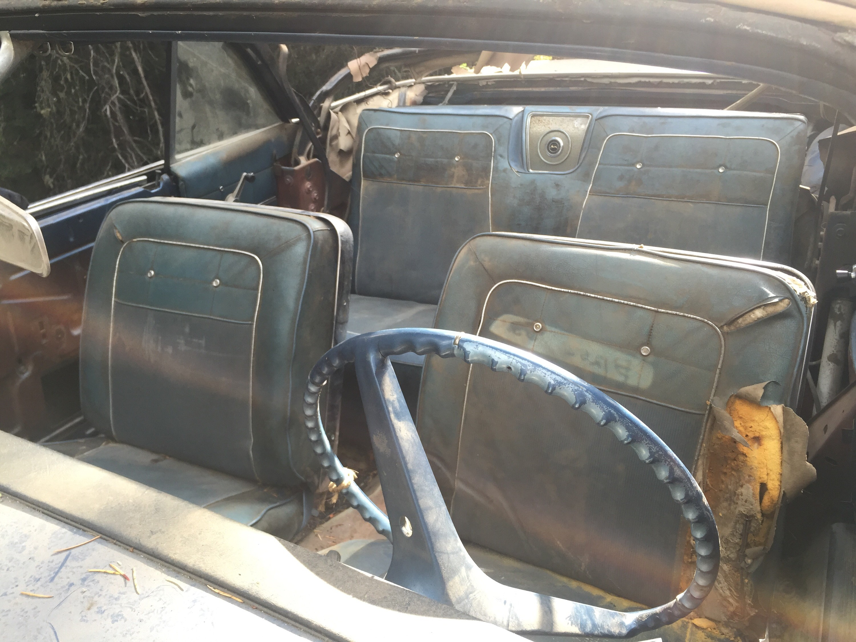 '62 Impala SS Convertible Interior