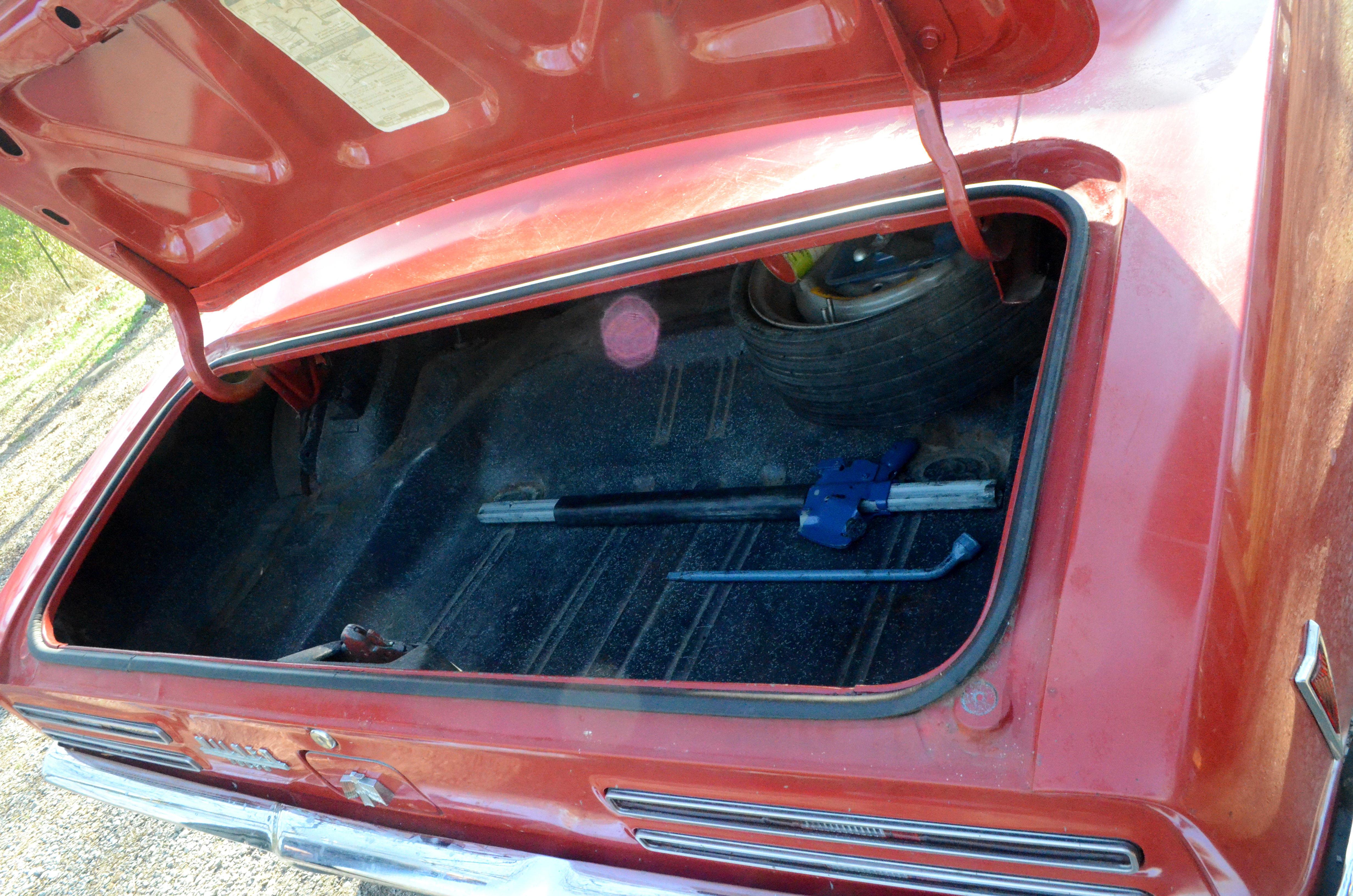 68 Firebird trunk