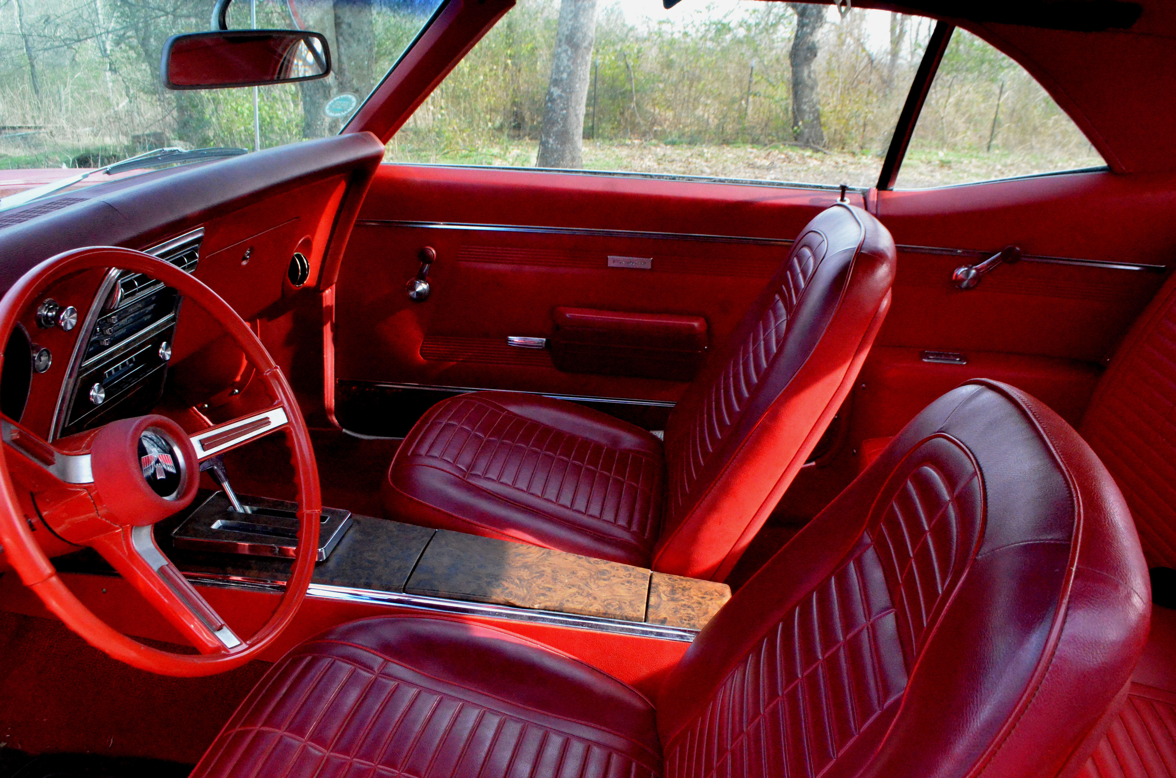 1968 Firebird Interior