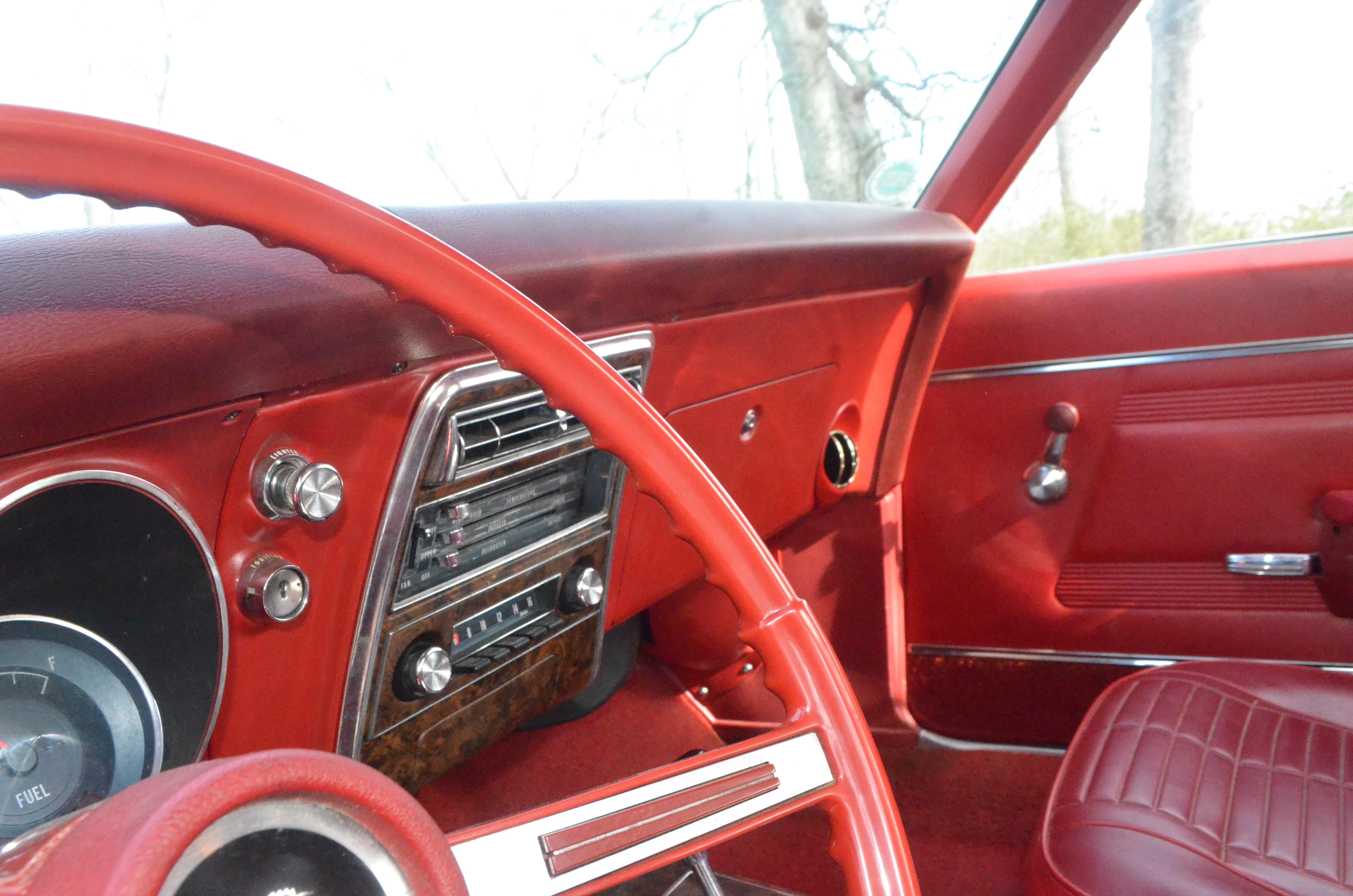 Classic firebird dash