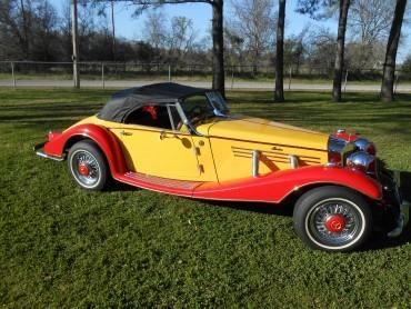 1936 Mercedes Marlene 500K