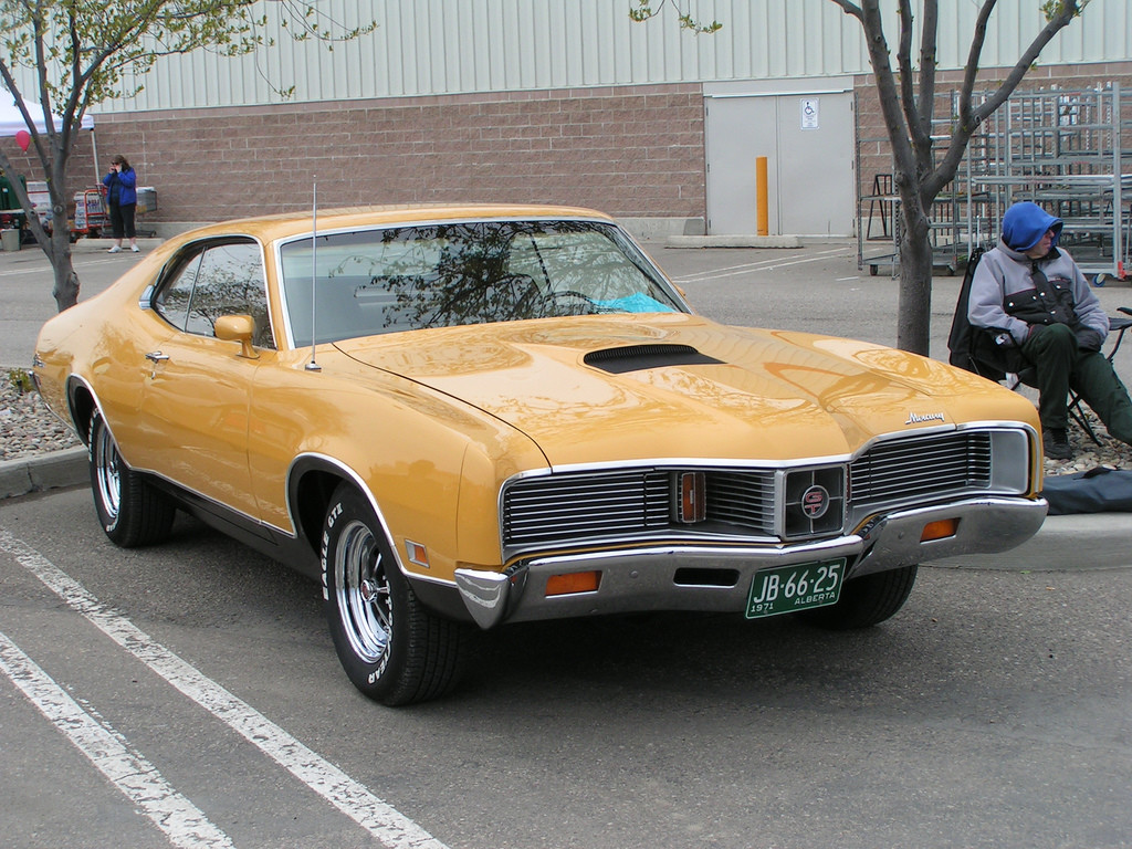 This 1971 Mercury Cyclone Gt Has Really Nice Muscular