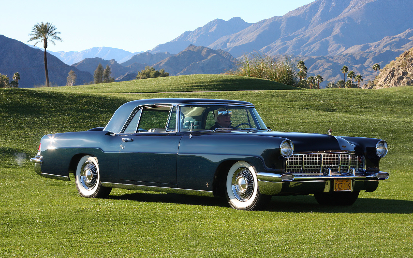 The 1956 Continental Mark II is equal parts boxy design with smooth, rounded curves. The result is one of the most elegant Lincoln automotive designs ever.