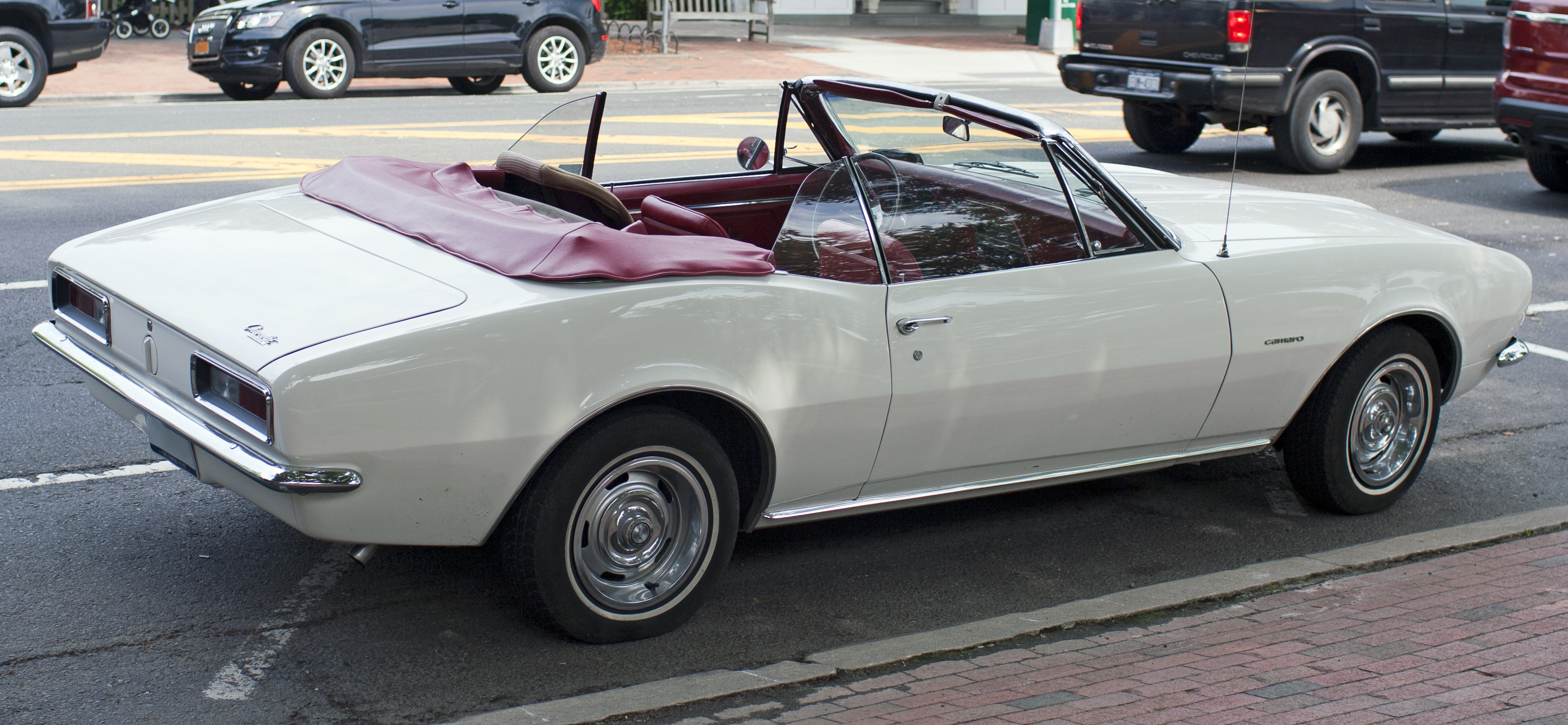 Stock 1967 Camaro Convertible with the base 6 cyl engine