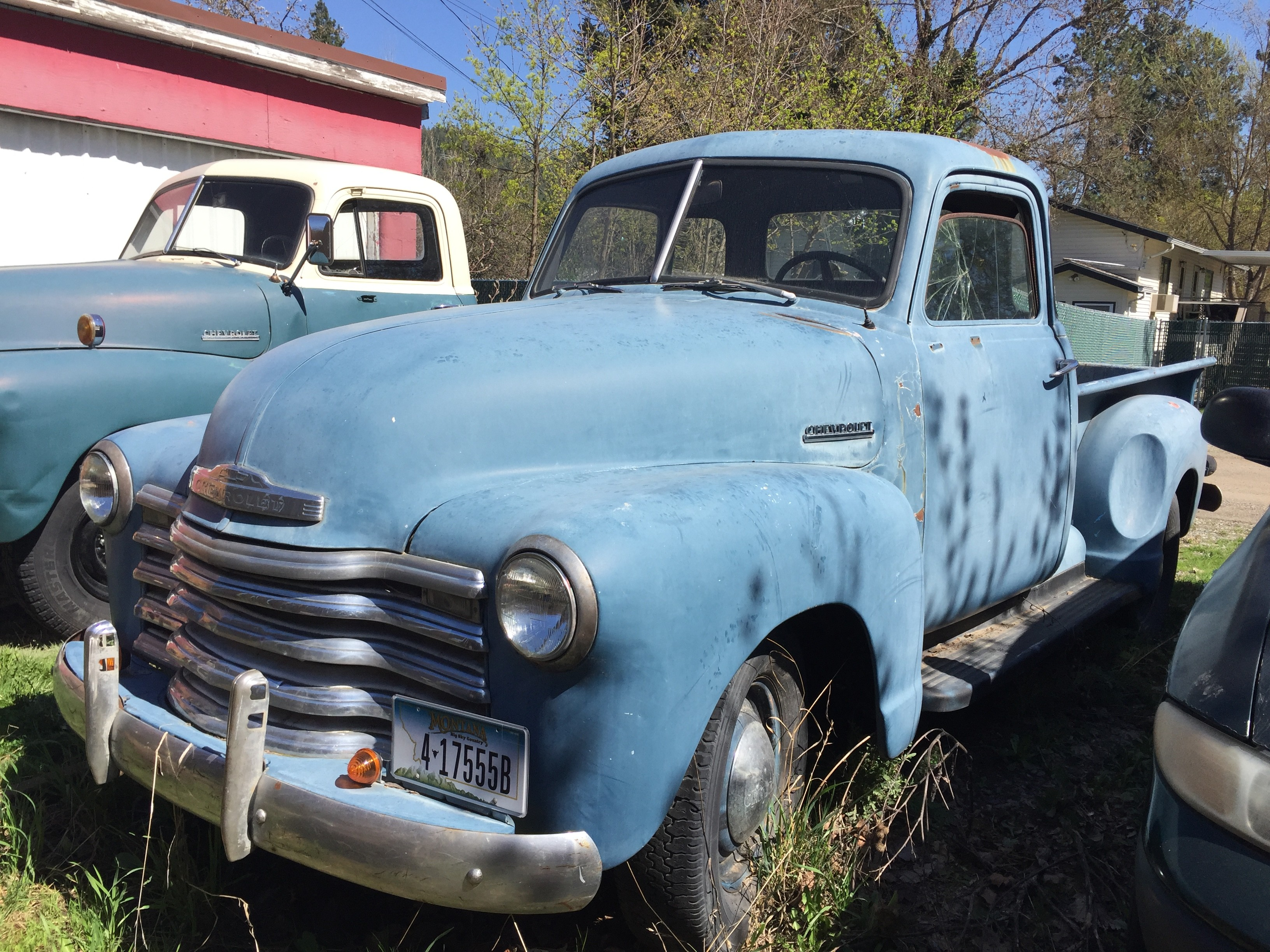 1953 Chevy 5 window pickup project has plenty of potential, if the price is right.