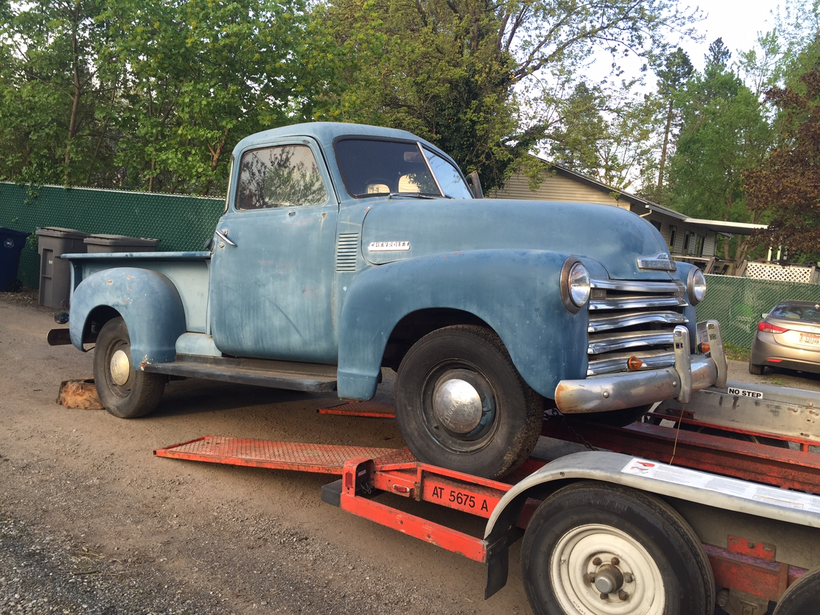 "Build Thread: 1953 Chevy 5 Window Pickup ""Project Rascal"" Post #1"